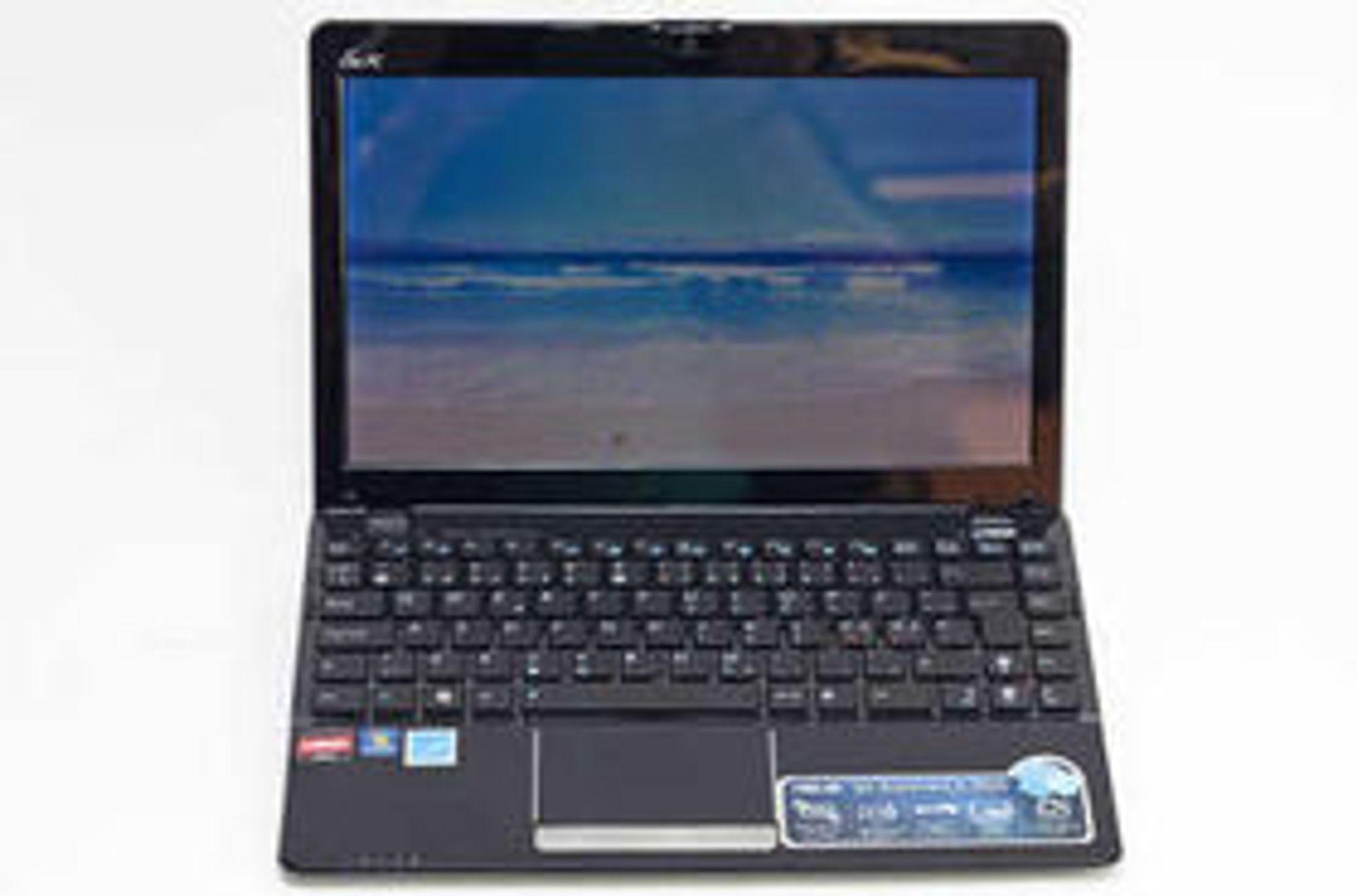 Asus startet Netbooks-trenden med sin EEE-serie i 2007. Nå er det imidlertid over, melder britisk avis. På bildet er en Asus Eee PC 1215B fra 2011. Den hadde 4GB RAM og 500 GB harddisk og kostet 3.500 kroner, inkludert moms.