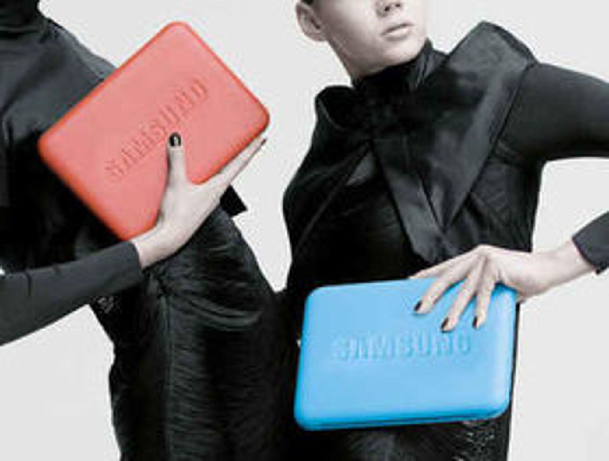 Det var ikke måte på hvor hippe og trendy miniatyrmaskinene skulle være, som denne netbooken fra Samsung i 2009.
