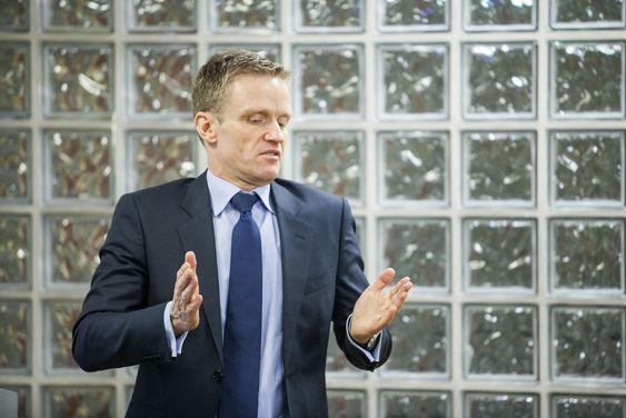 Lunde forklarte en gruppe journalister og finansanalytikere hvordan Telio skal kutte kostnader i NextGenTel. Dette må han lykkes i - ellers kan oppkjøpet til nesten 570 millioner kroner bli en dyr affære.