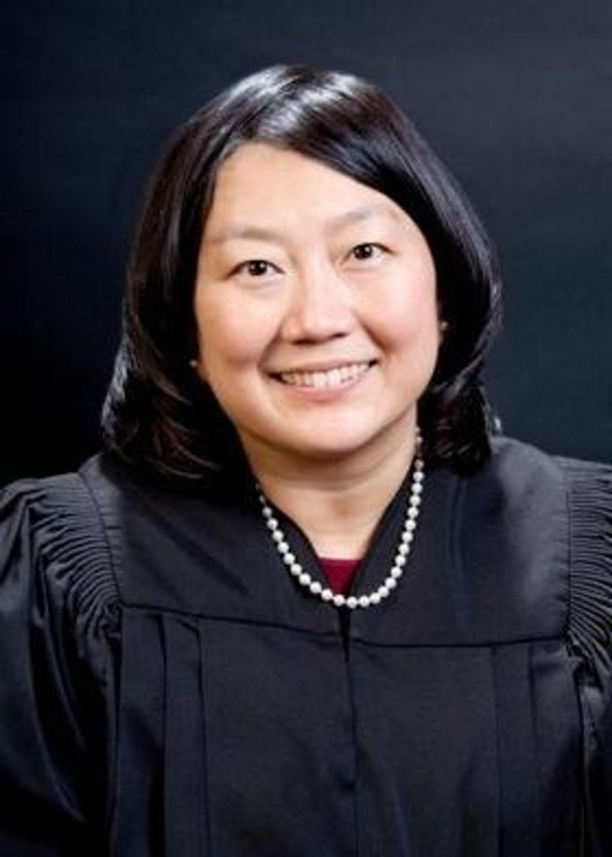 Lucy Koh, dommeren i rettssaken mellom Apple og Samsung i San Jose, California.