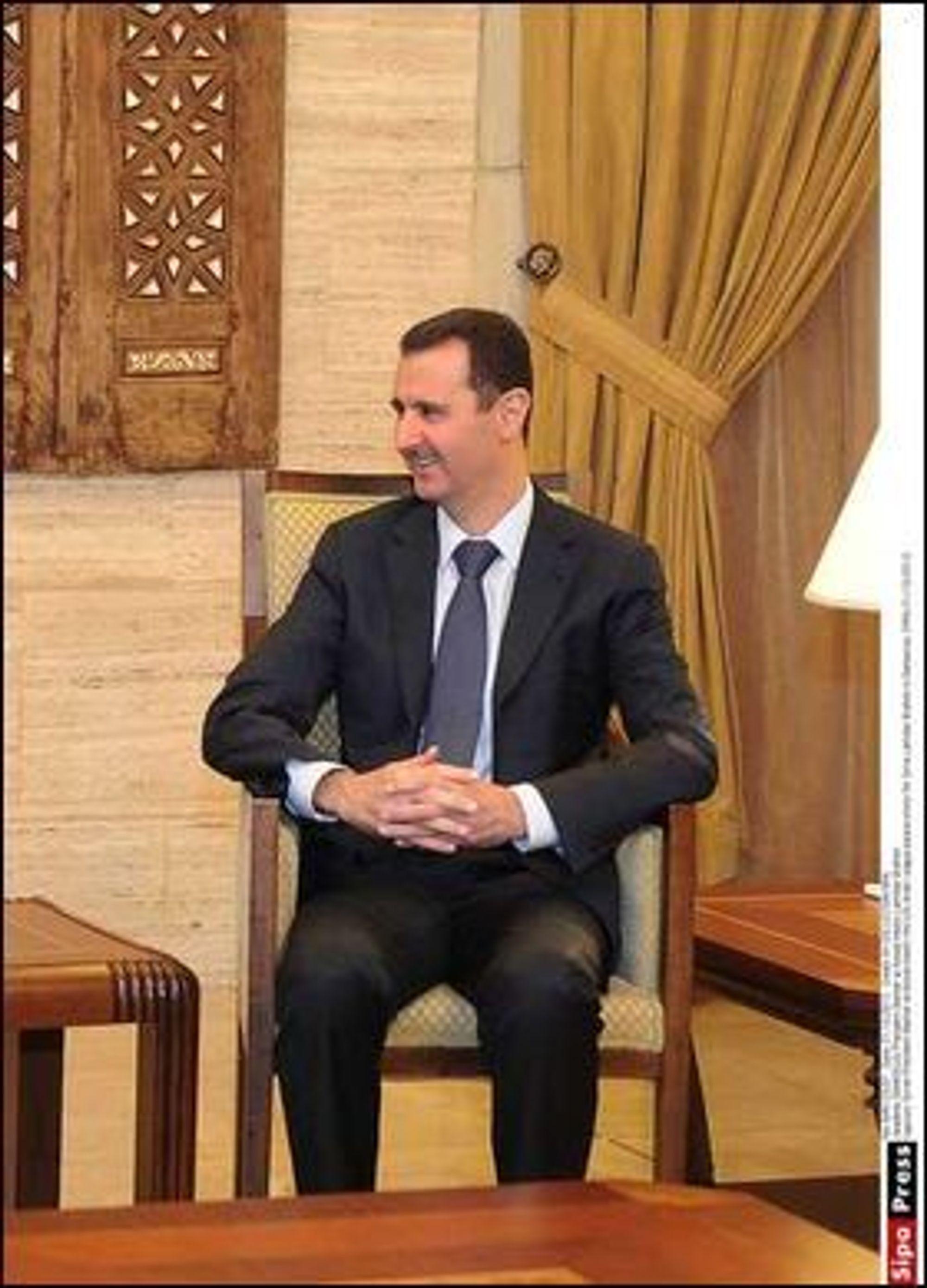Har regimet i Syria, ledet av Bashar al-Assad, strammet til nett-overvåkningen av landets innbyggere?