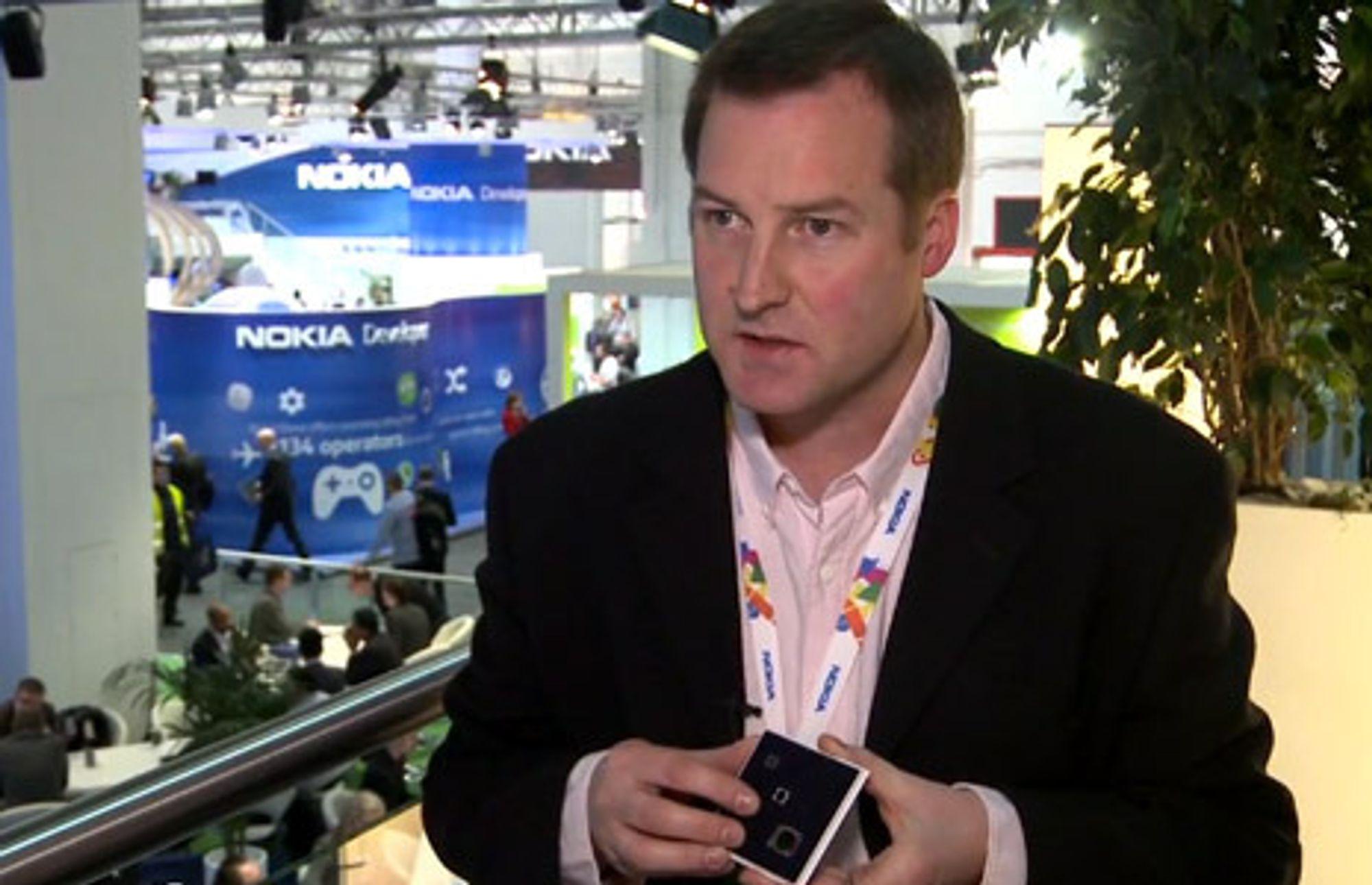 Damian Danning har ledet Nokias arbeid innen kamera og bildebehandling siden april 2004.