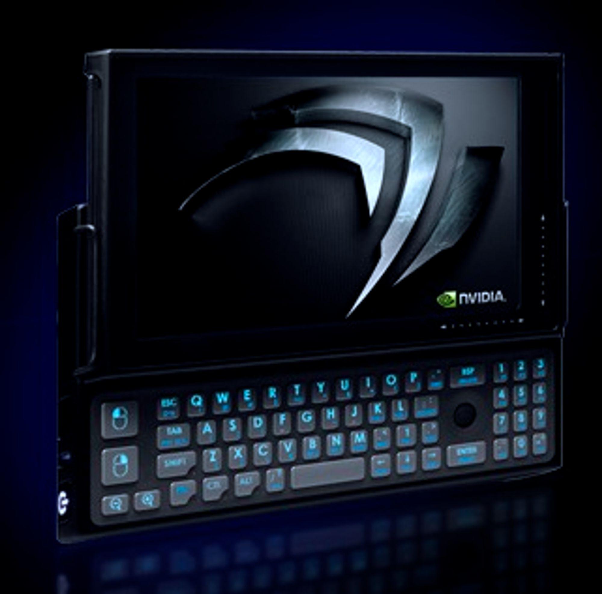 Nvidia-prototyp av mobil enhet med Tegra-prosessor