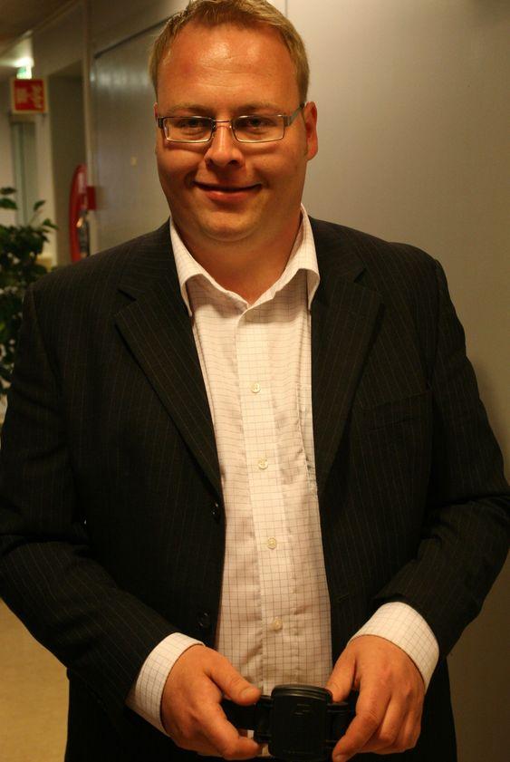 Hans Petter Brynhildsen, produktdirektør i Trigcom
