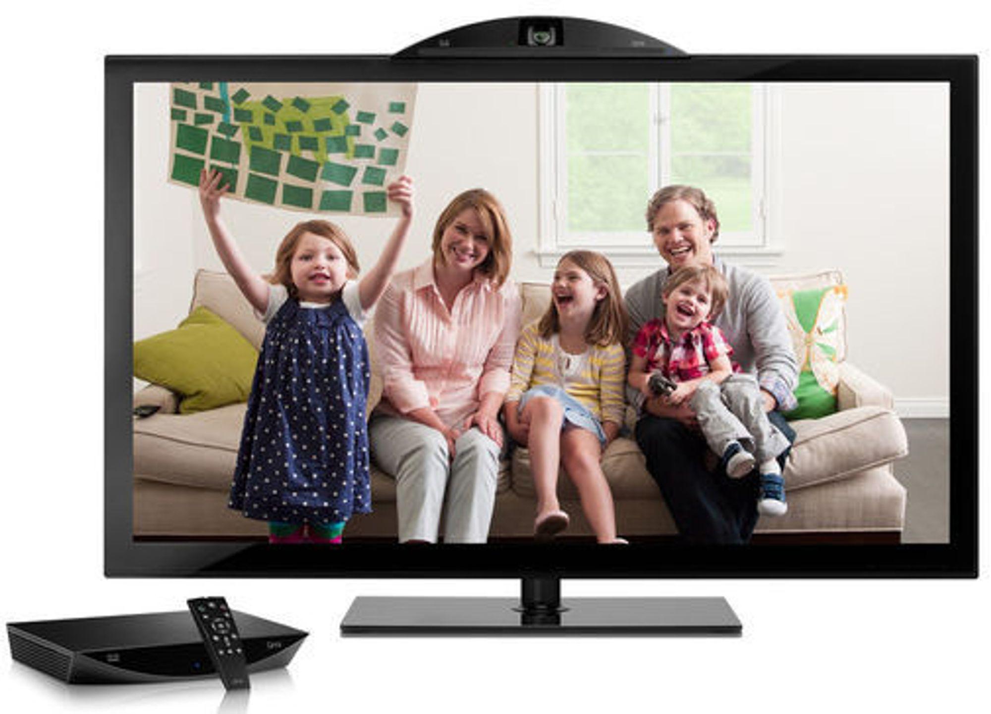 Kameraet monteres på tv-en. Telesamværet styres av en fjernkontroll mot en egen konsoll. Utenom konsoll, kamera og fjernkontroll trengs bare tv og bredbånd.