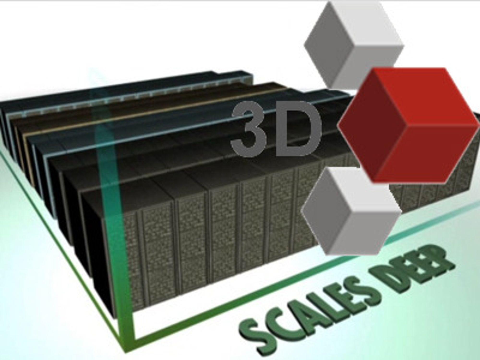 Uttrykket «3D skalering» går igjen i markedsføringen av Hitachi VSP. Det betyr at man kan ruste opp hver rack med disker og cache («scale up»), knytte sammen flere rack i felles logikk for drift og virtualisering («scale out»), og knytte systemet til mange typer ytre lagring, også fra andre leverandører («scale deep»). Hitachi hevder å være de første til å tilby dette.