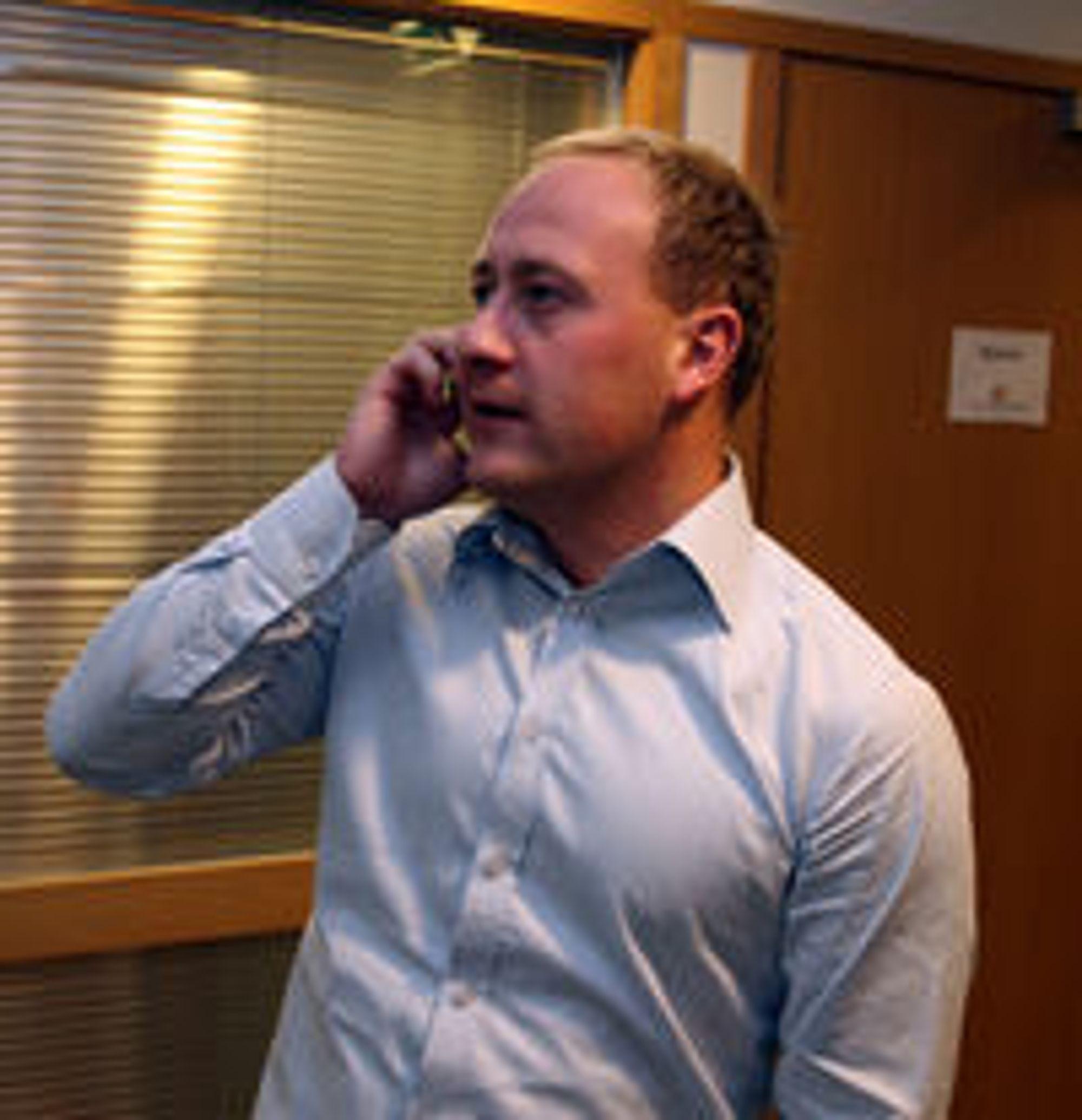 - Feilen inntraff under planlagt oppgradering av en sentral i Oslo, sier Øyvind Vederhus i Netcom.