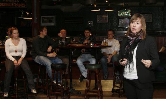 - Fri programvare er ikke en fleip lengre, sa Heidi Arnesen Austlid fra Friprogsenteret.