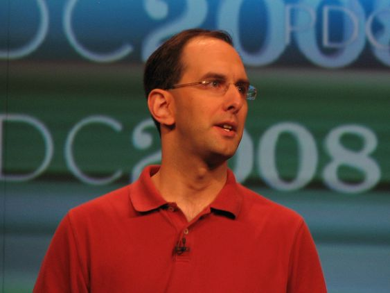 Microsofts Scott Guthrie under PDC 2008