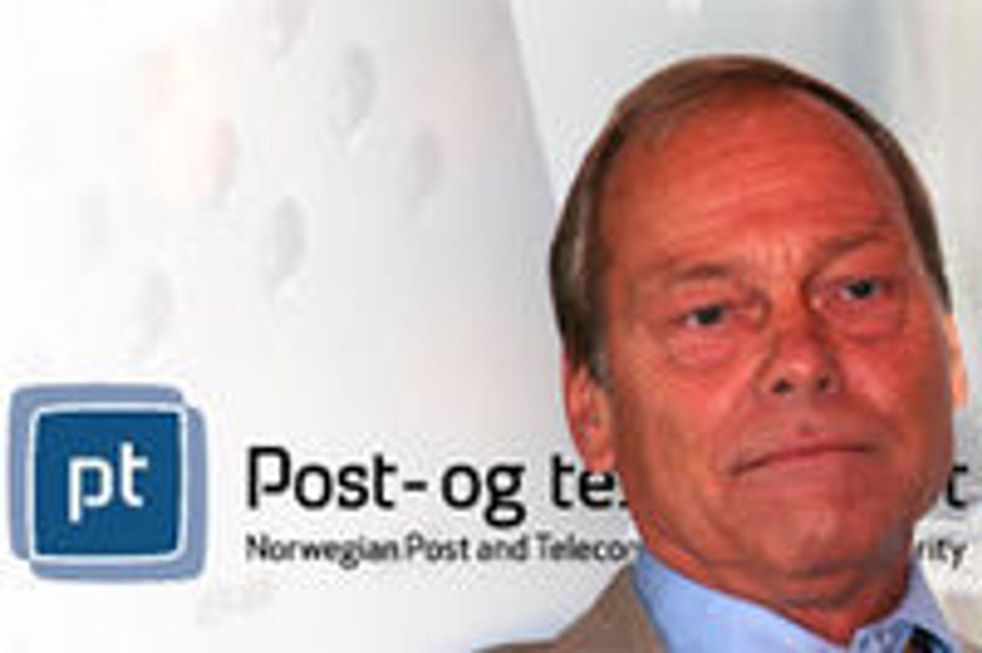 Willy Jensen fra Post- og teletilsynet presenterte i dag tall som viser at mobilt bredbånd vokser kraftig.