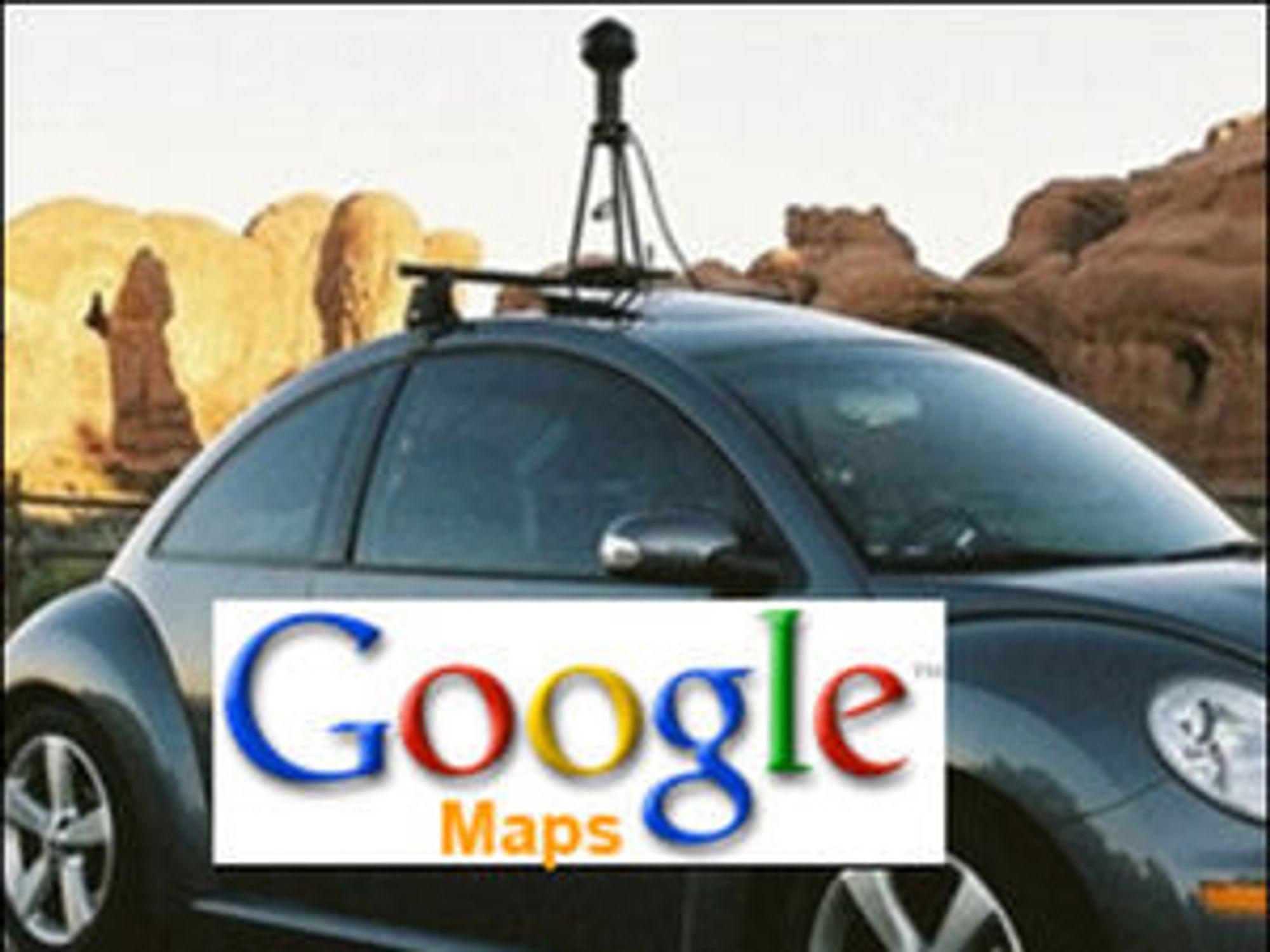 Google-bilene har mer enn bare mengde kameraer på taket.