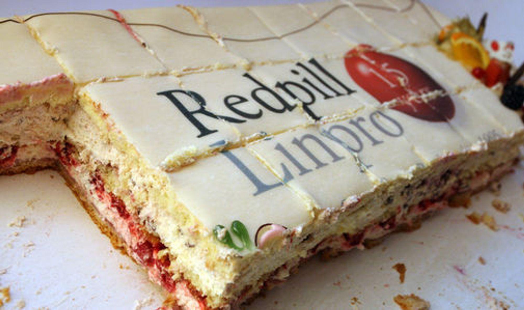 Redpill Linpro-kaken gikk unna da selskapet feiret sine første femten år. Samtidig kan selskapet feire at de har snudd resultatet fra fjorårets røde tall.