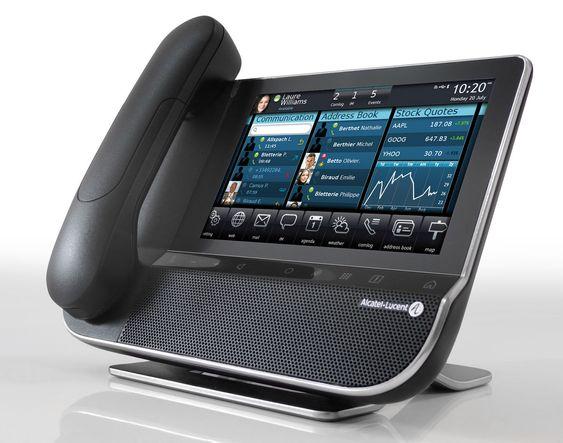 Med en skjerm som en iPhone, og muligheten for sammensatte tjenester, håper Alcatel-Lucent å trekke utviklere til sin nye serie fsttelefoner.
