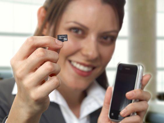 SanDisk microSDHC 32 GB-kort er først og fremst egnet for mobiltelefoner.