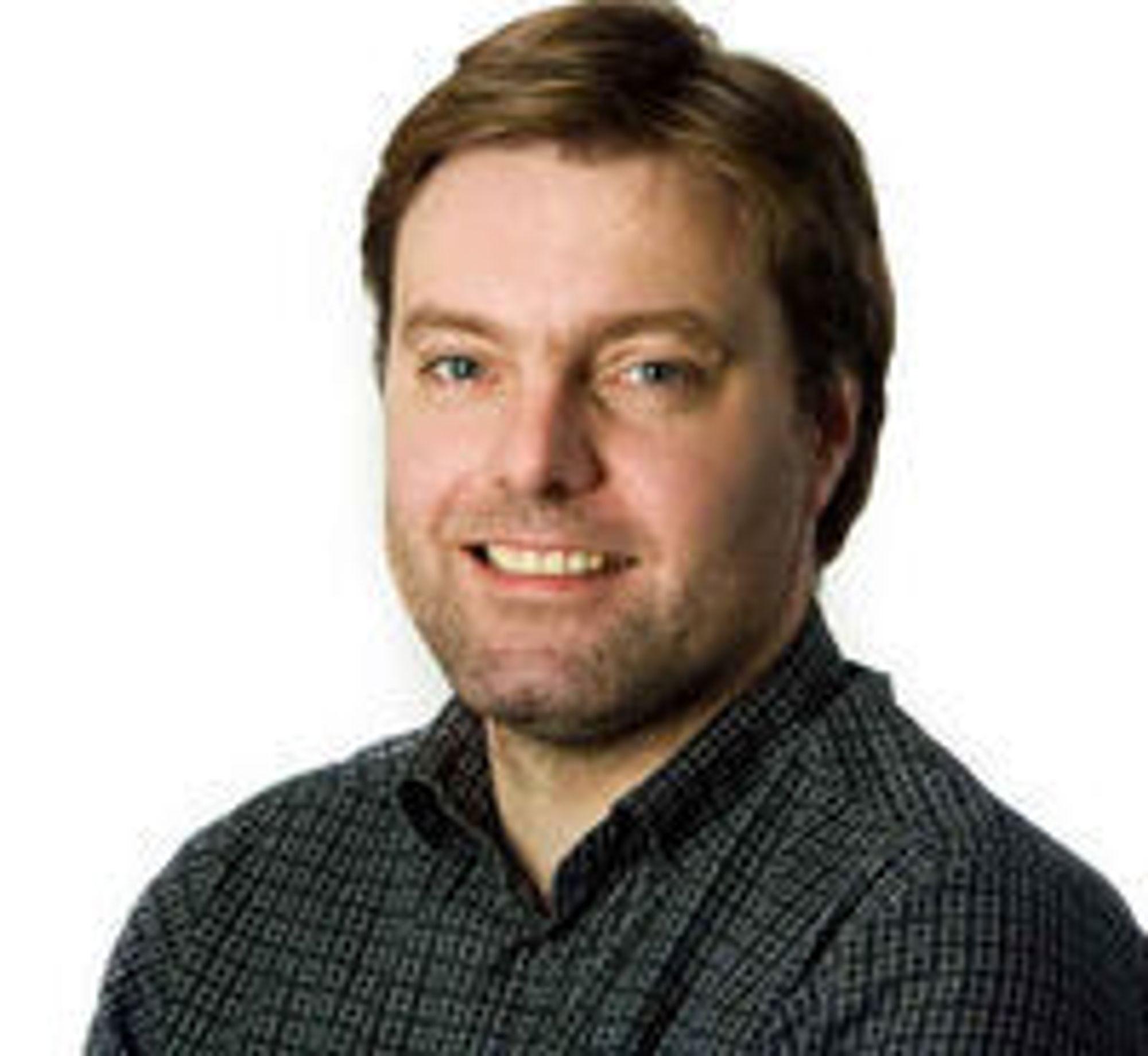Outsider: Anders Brenna, med bakgrunn blant annet fra IT-bransjen og som tidligere utgavesjef i digi.no.