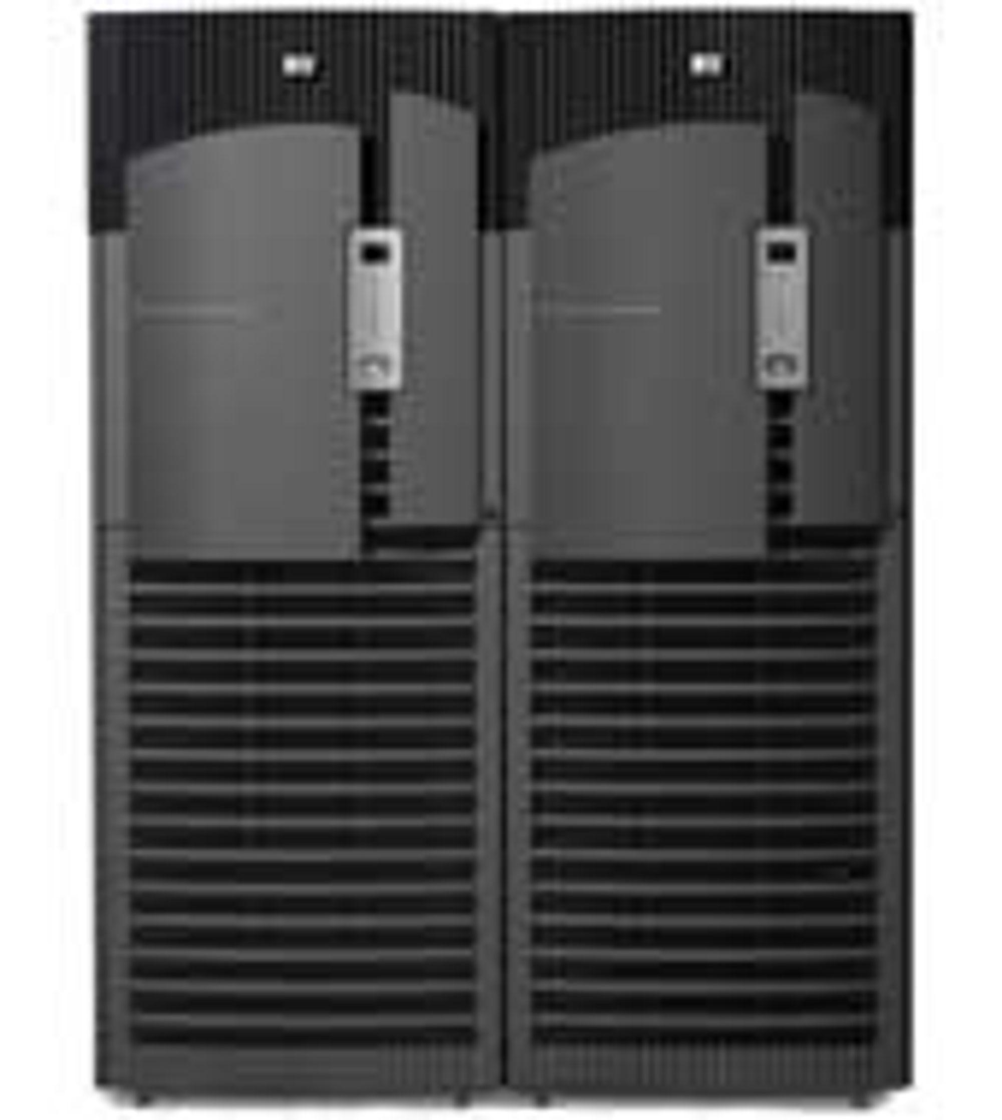 HPs Integrity Superdome Server støtter allerede opptil 128 prosessorkjerner.