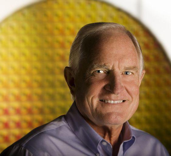 Craig Barrett, avtroppende styreformann i Intel.