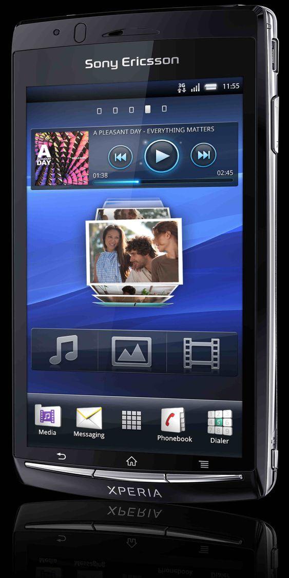 Sony Ericsson Xperia arc vil bli levert med Android 2.3.