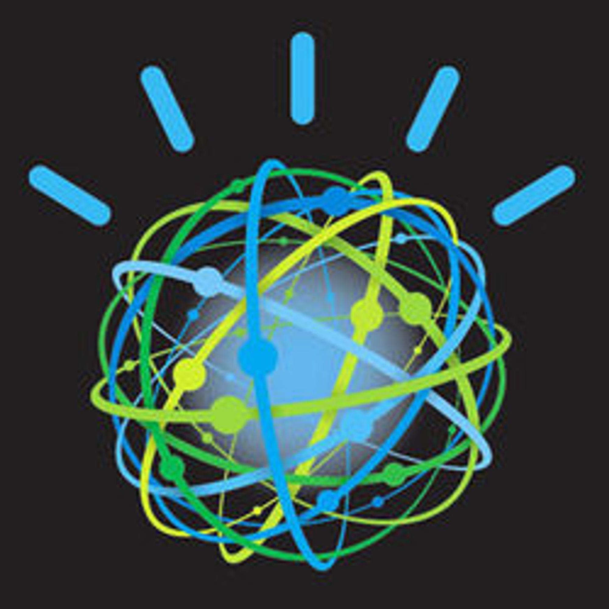 Denne logoen skal representere Watson under konkurransen.