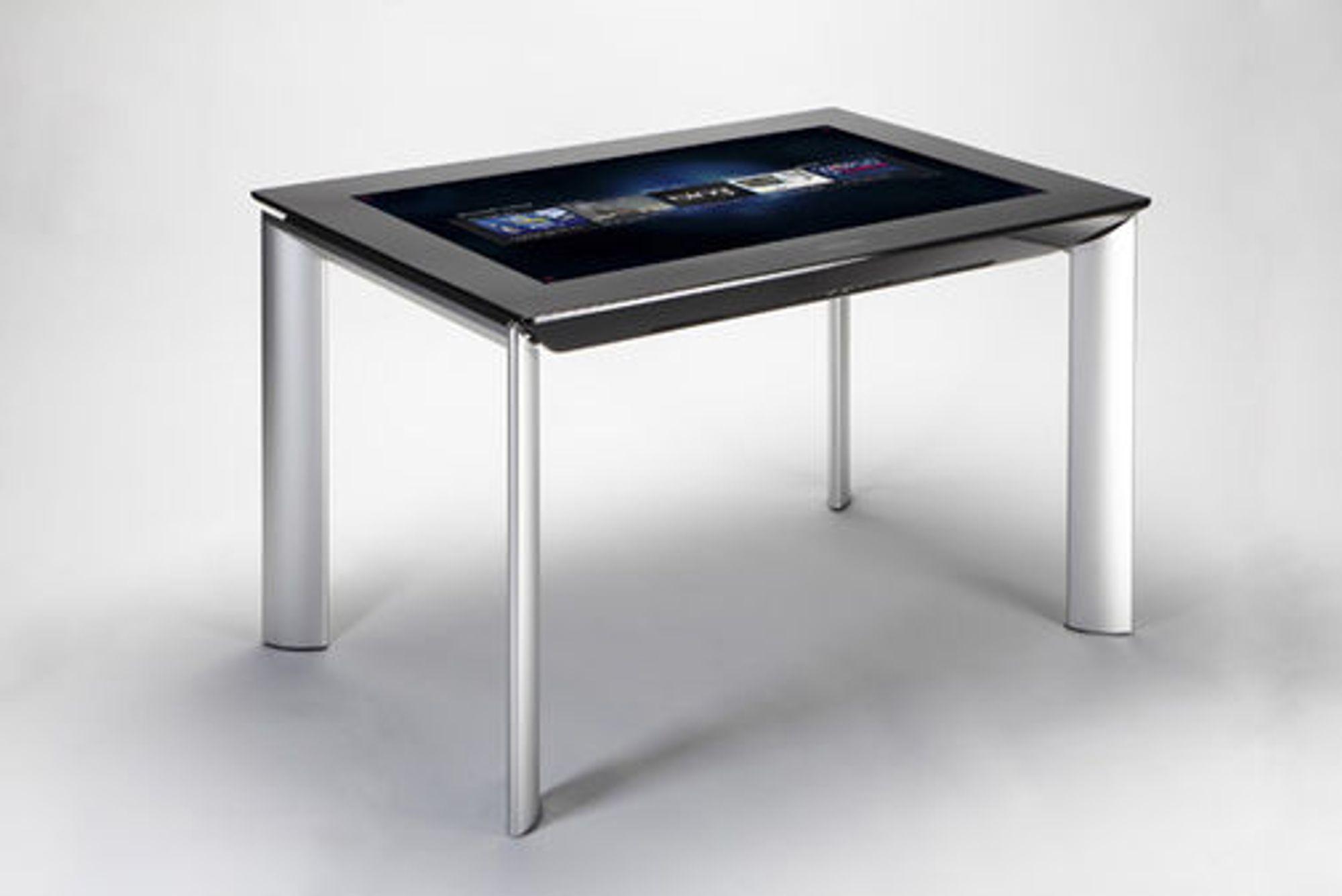 Microsoft Surface 2.0, neste versjon av selskapets flerberøringsbord. Det er laget i samarbeid med Samsung.