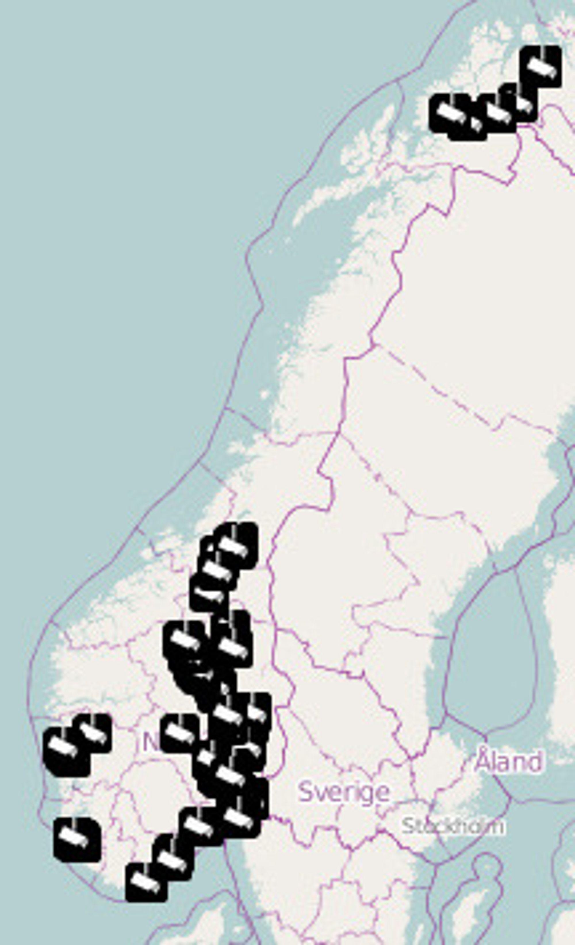 Overvåkningskamera i Norge