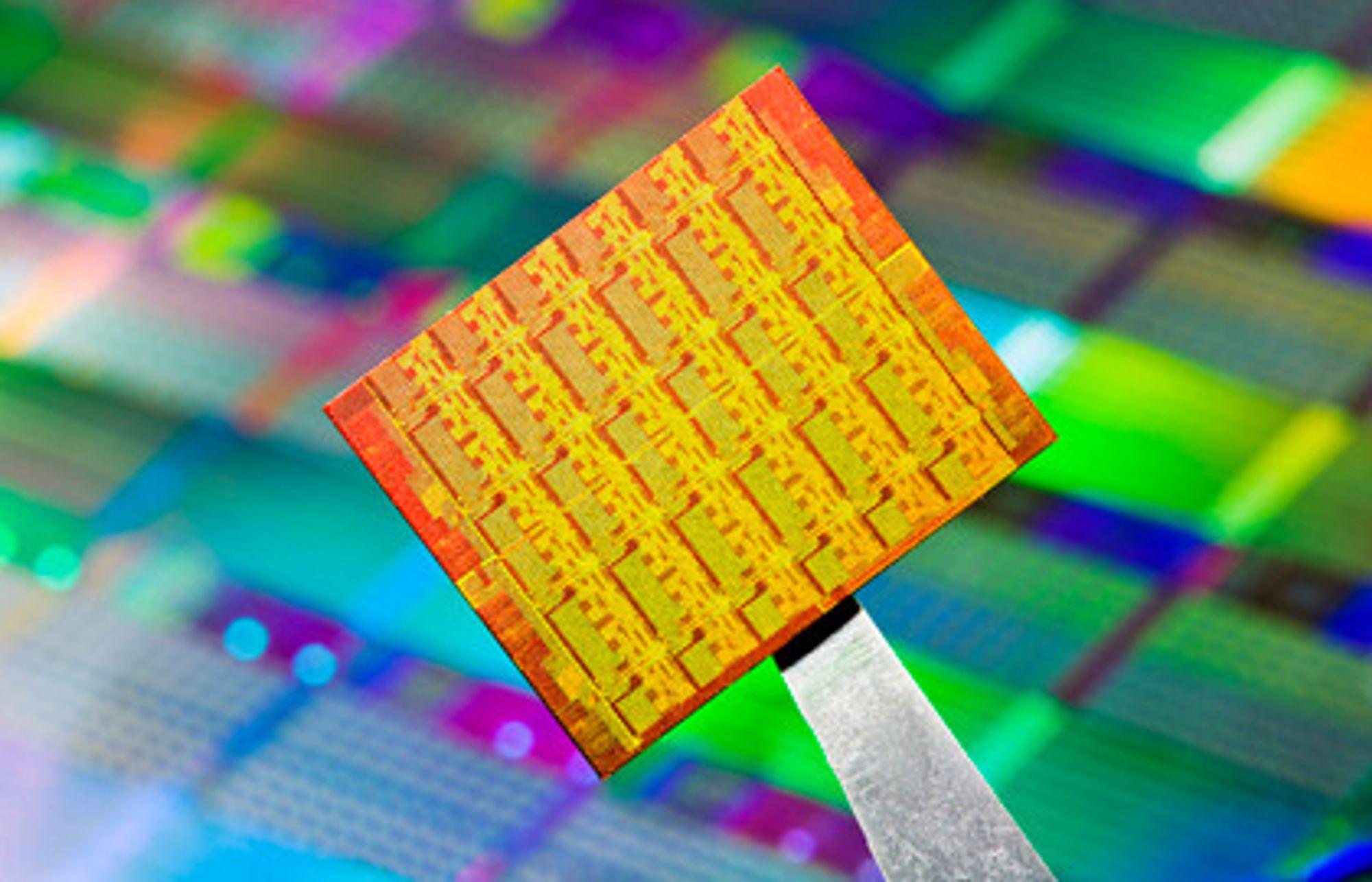 Intel-prosessor med 48 kjerner.