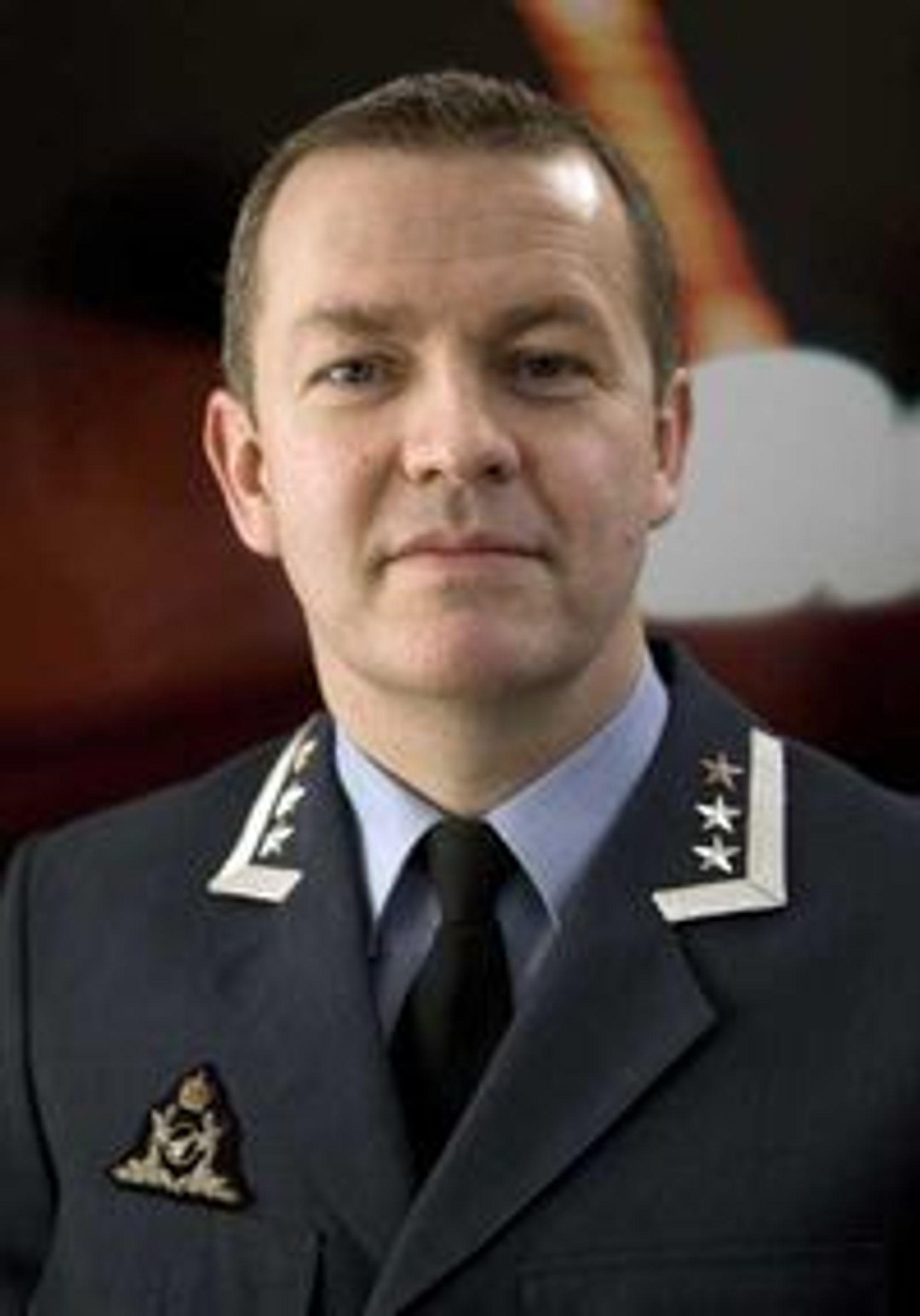 Oberst Hans Robert Bjørnaas leder avdelingen Kommunikasjons- og systemsikkerhet i NSM.