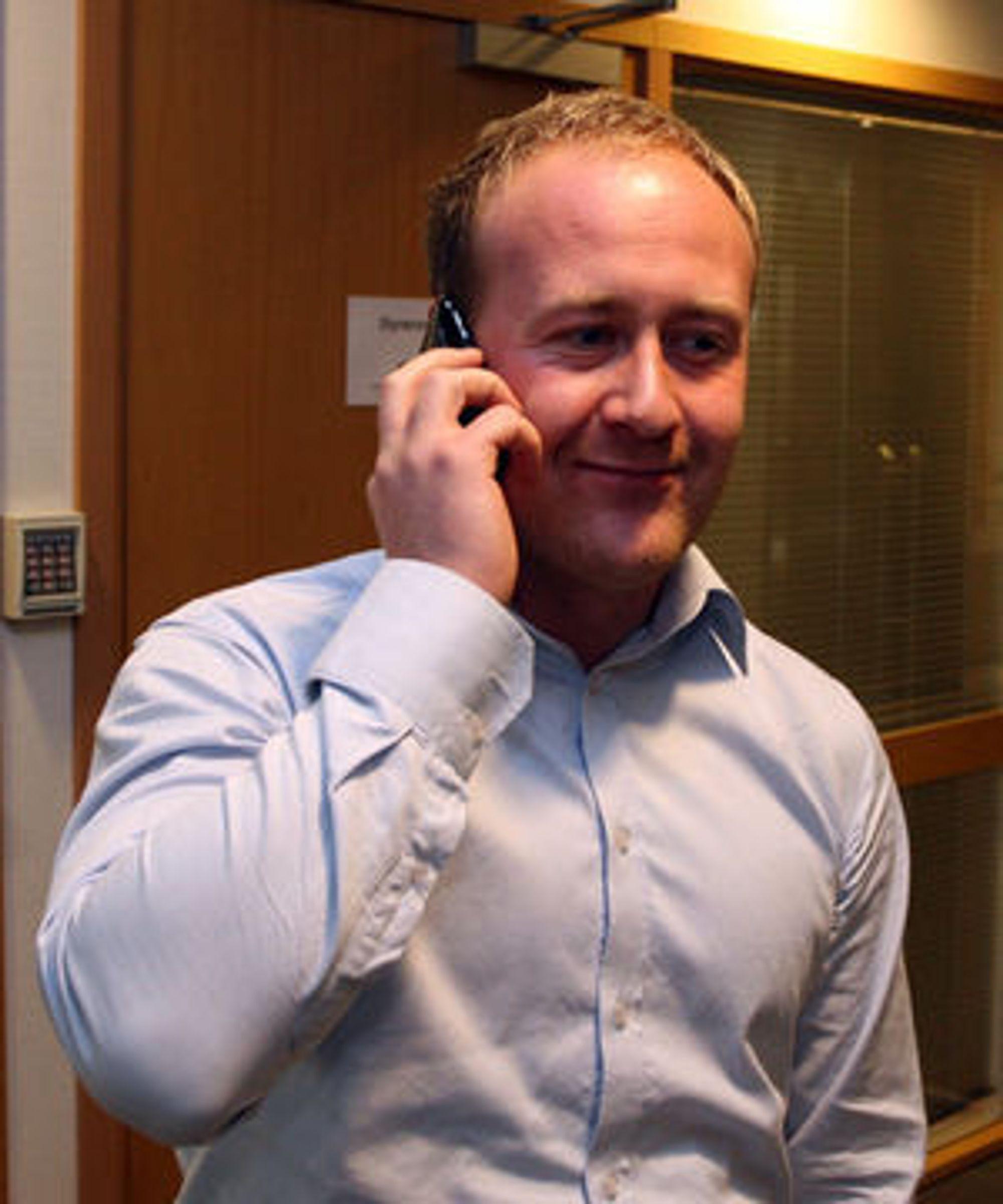 Øyvind Vedeerhus i Netcom mener dagens forreteningsmodell med flat rate på mobil data ikke er bærekraftig.