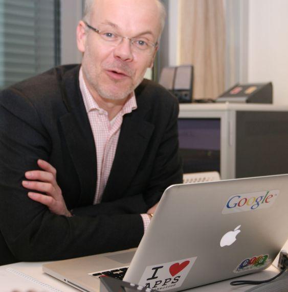 Klar med flere gatebilder: Google Norge-sjef Jan Grønbech.