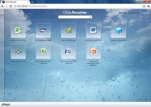 Citrix Receiver for Chrome Notebooks