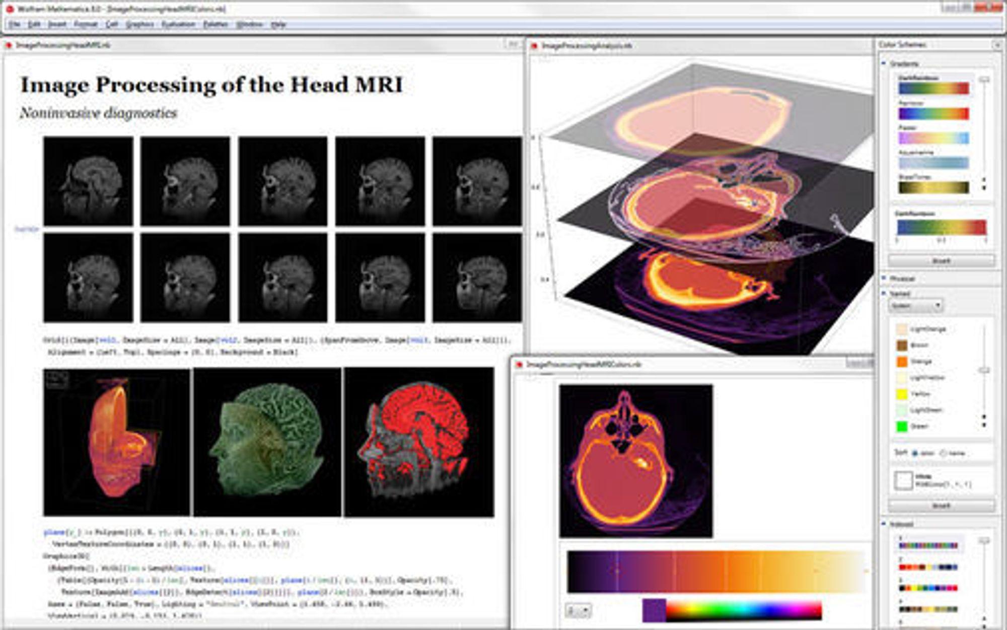 Avansert bildeprosessering i Mathematica 8.