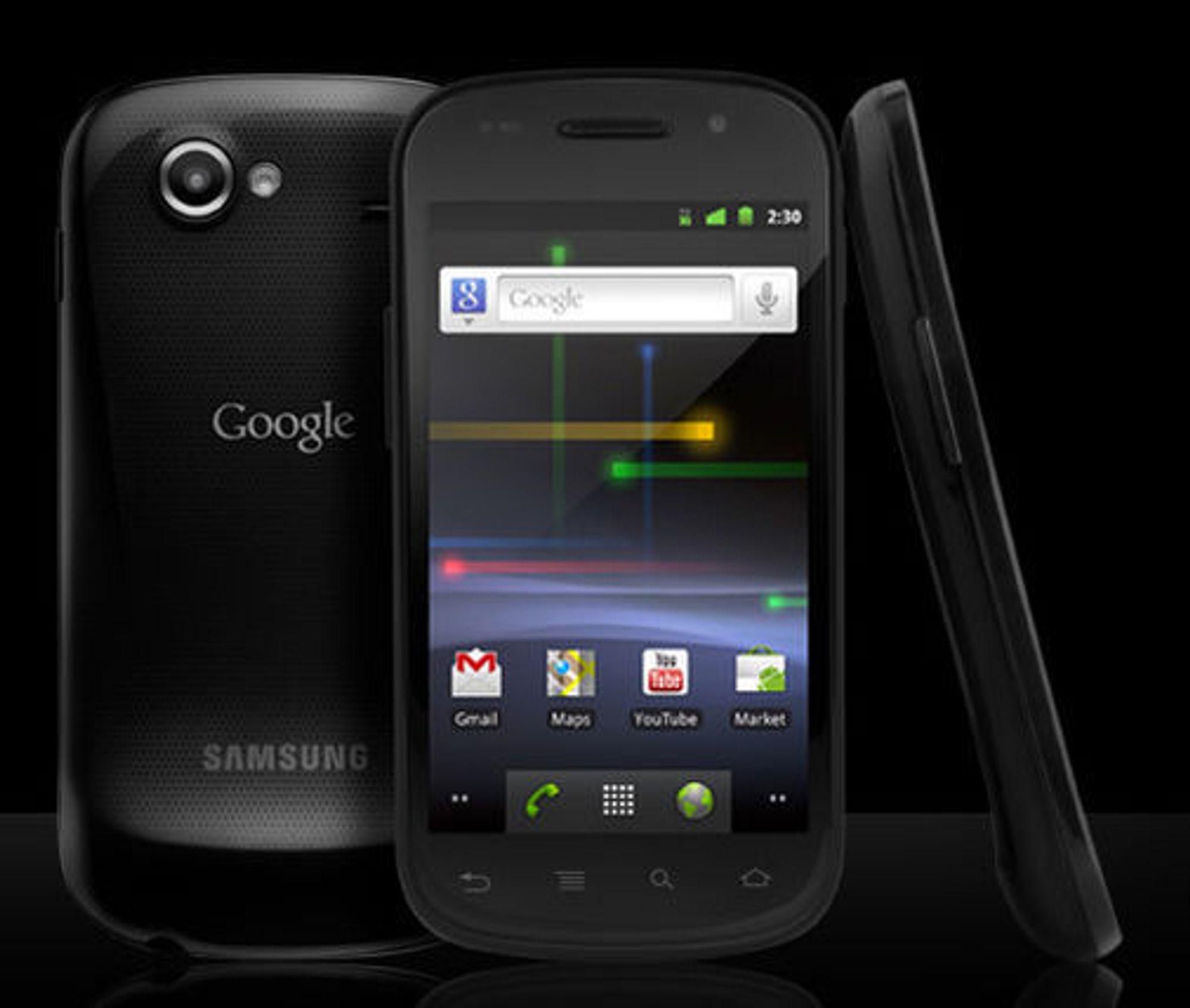 Google Nexus S produseres av Samsung