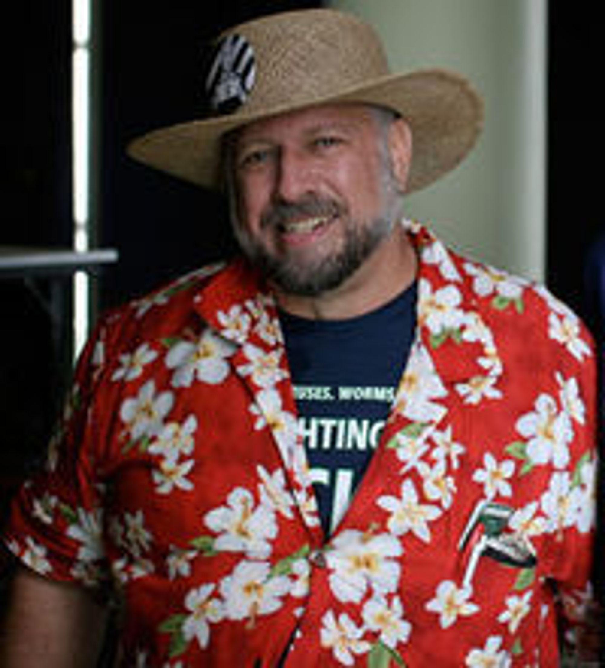 Michael S. Hart på et bilde tatt i 2006.