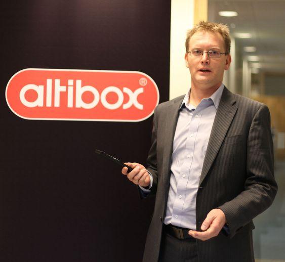 Altibox-direktør Leif Aarthun Ims.