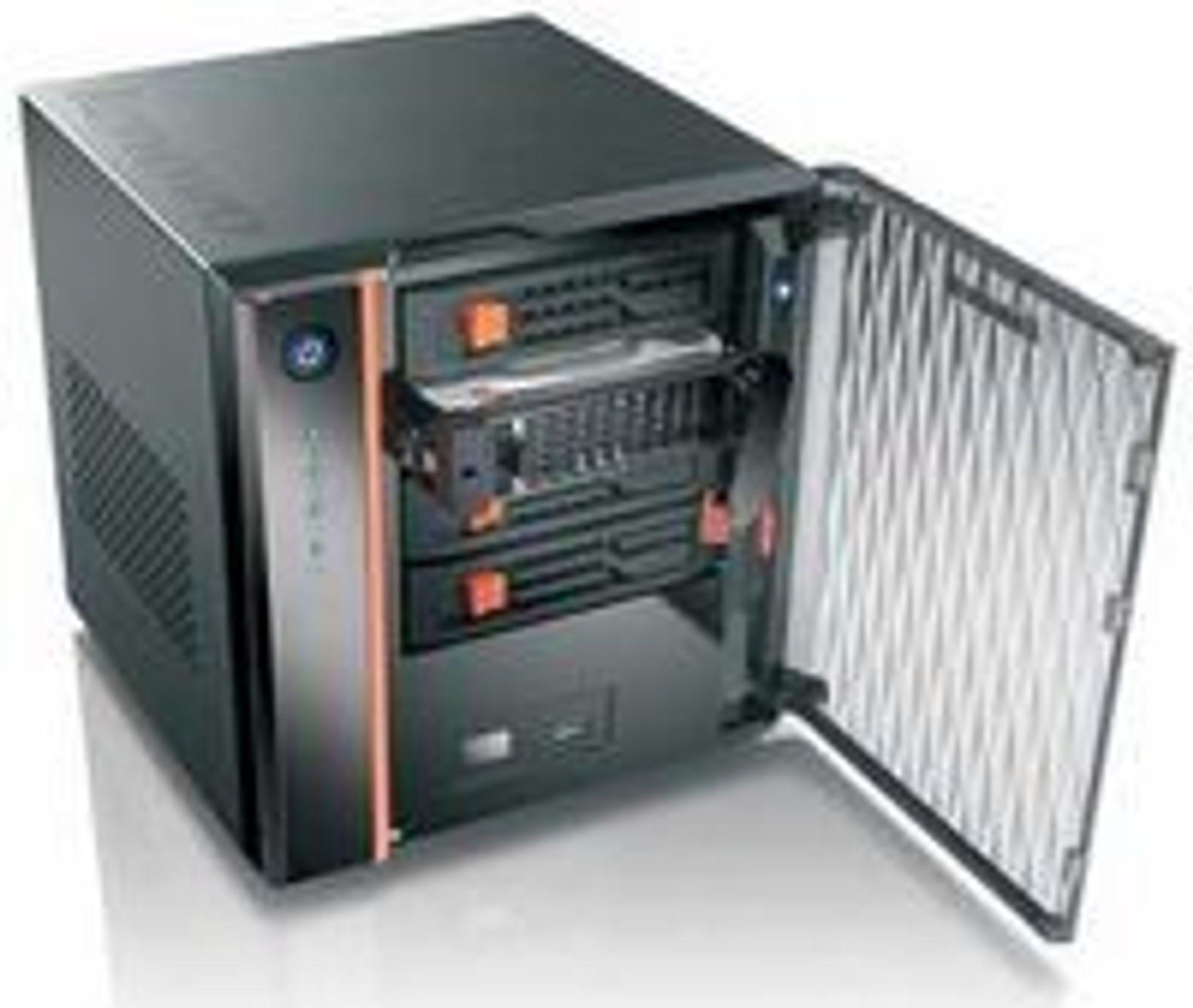 Lenovo tilbyr servere til hjem og kontor.