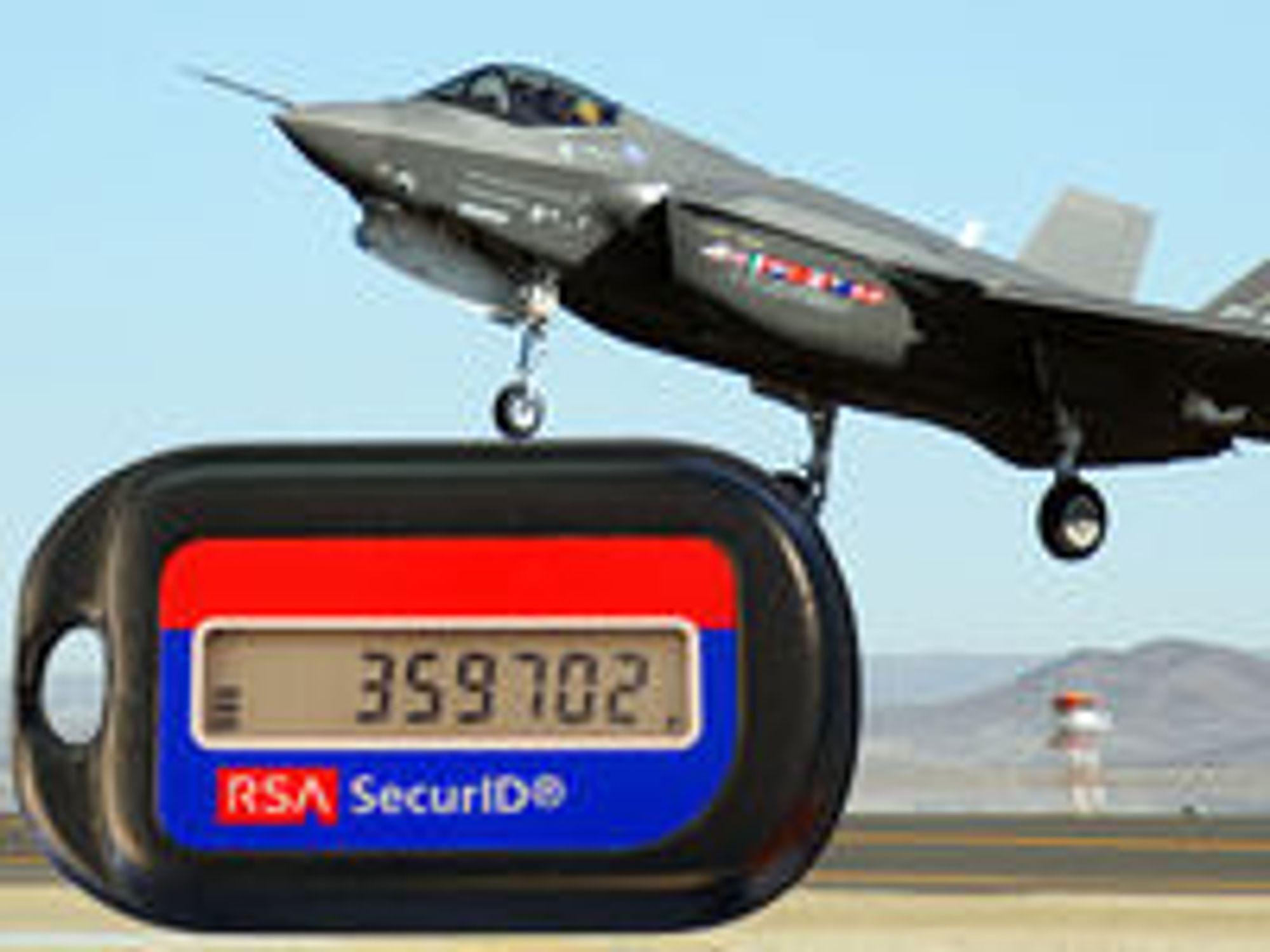 Phishing og kompromittering av SecurID kan ha gitt uvedkommende tilgang til intern informasjon om prosjekter som kampflyet F-35.