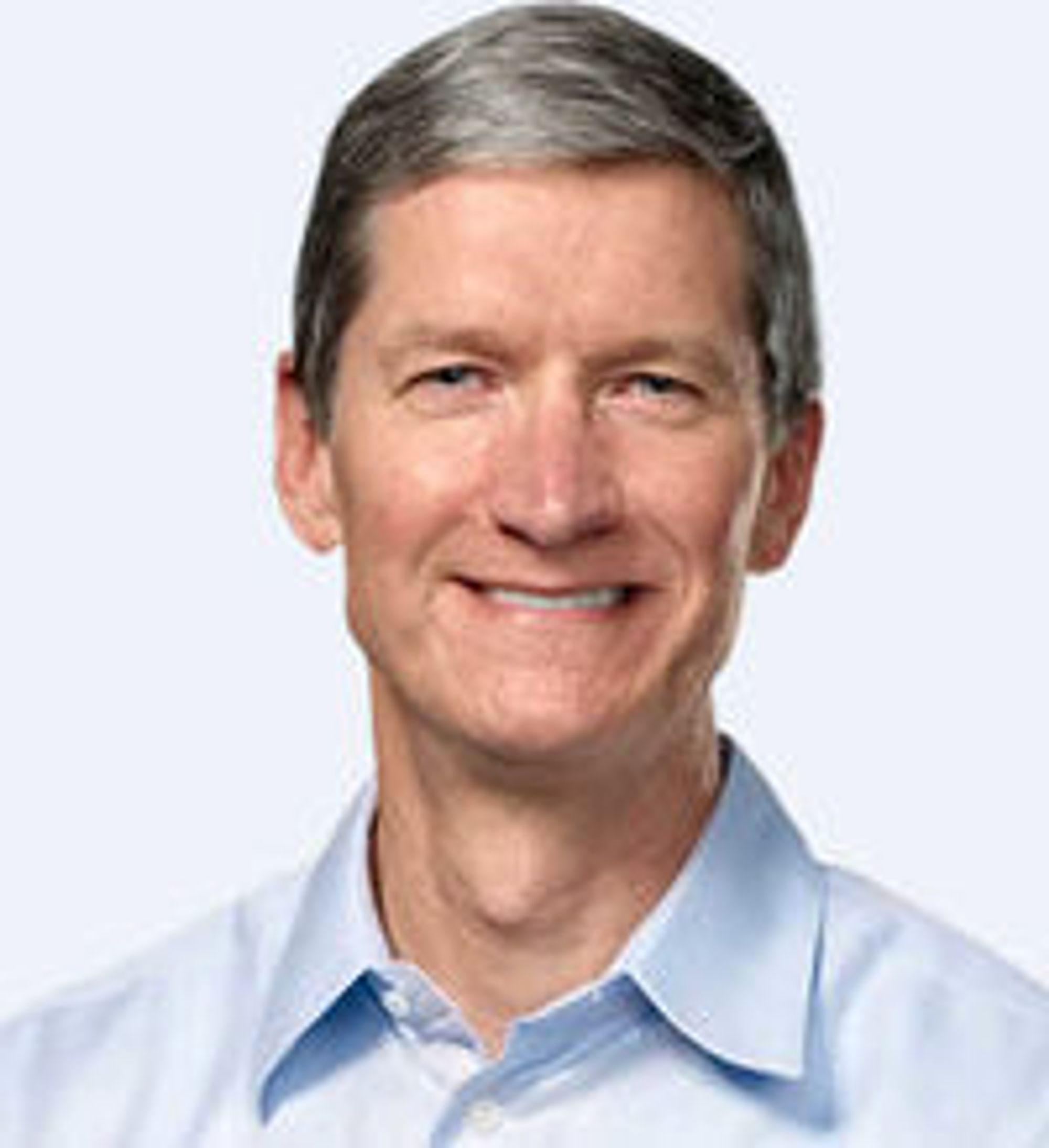Tim Cook er arvtakeren til Steve Jobs.