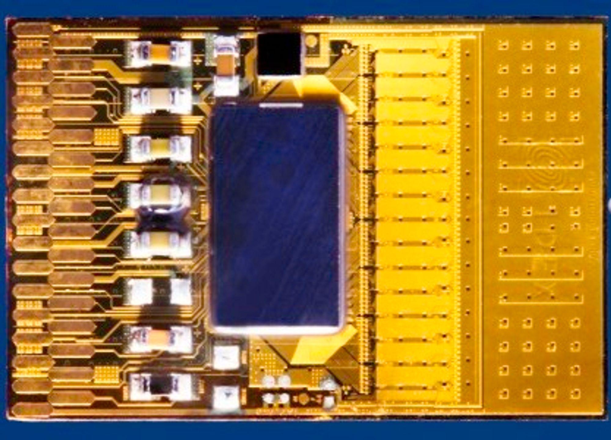 Smartfinger Film leveres som applikasjonsspesifikk integrert krets (ASIC)