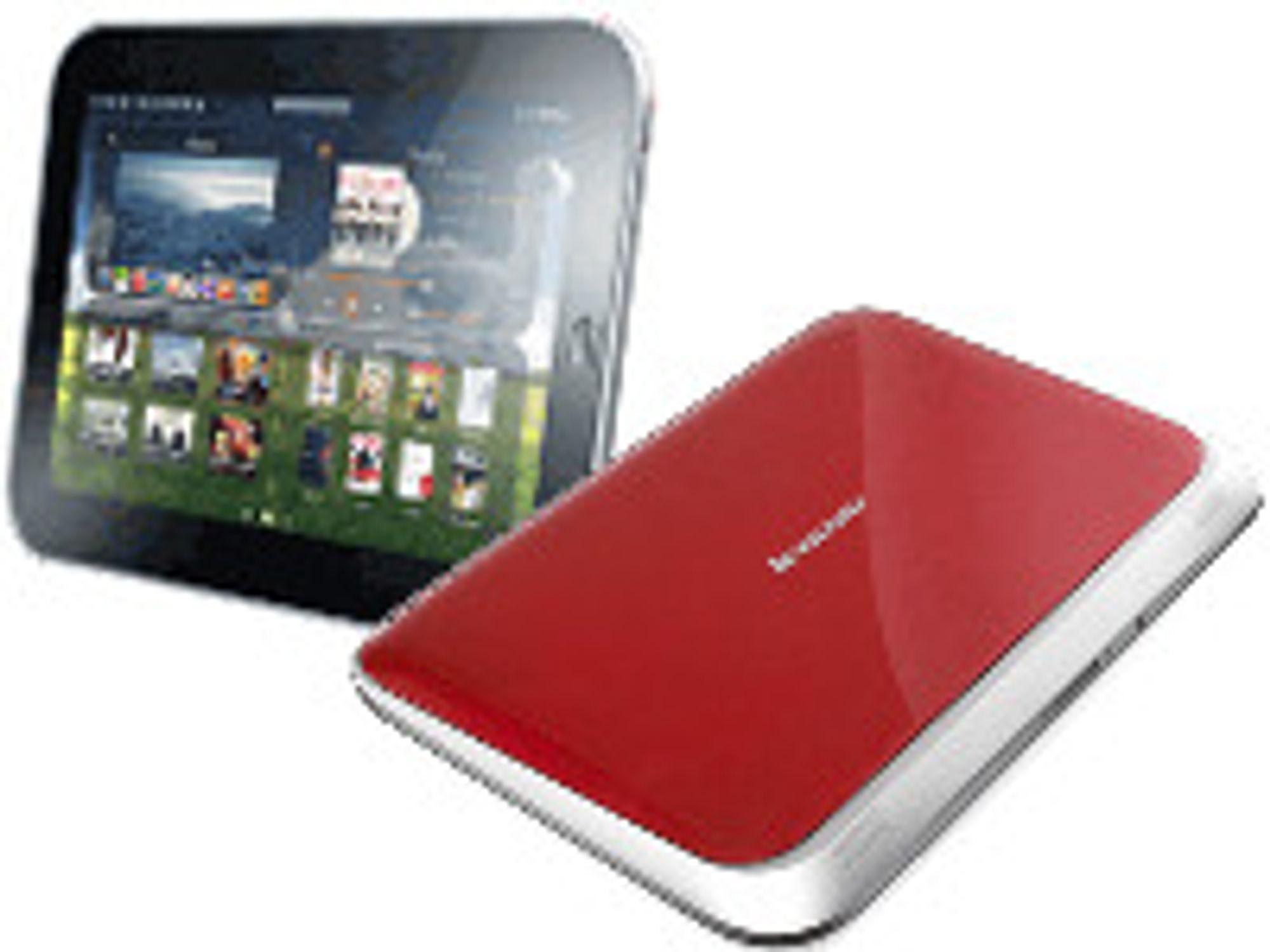 Lenovo vil bli langt mer diffrensiert enn iPad for å møte konkurransen fra Apple.