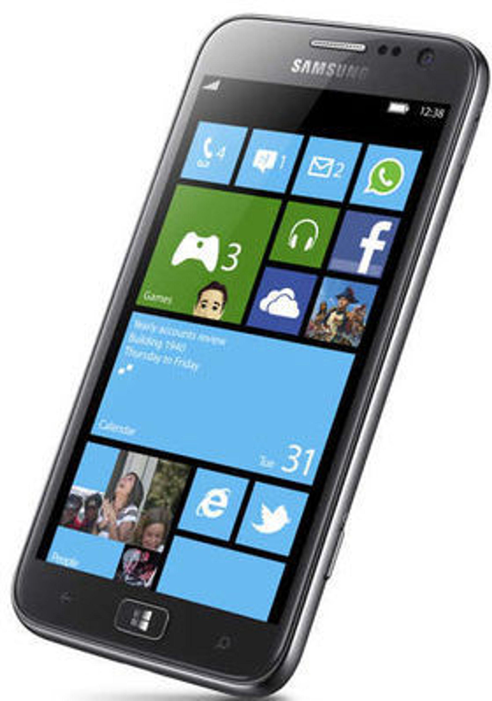 Samsung ATiV S er den første smartmobilen med Windows Phone 8 som har blitt avduket.