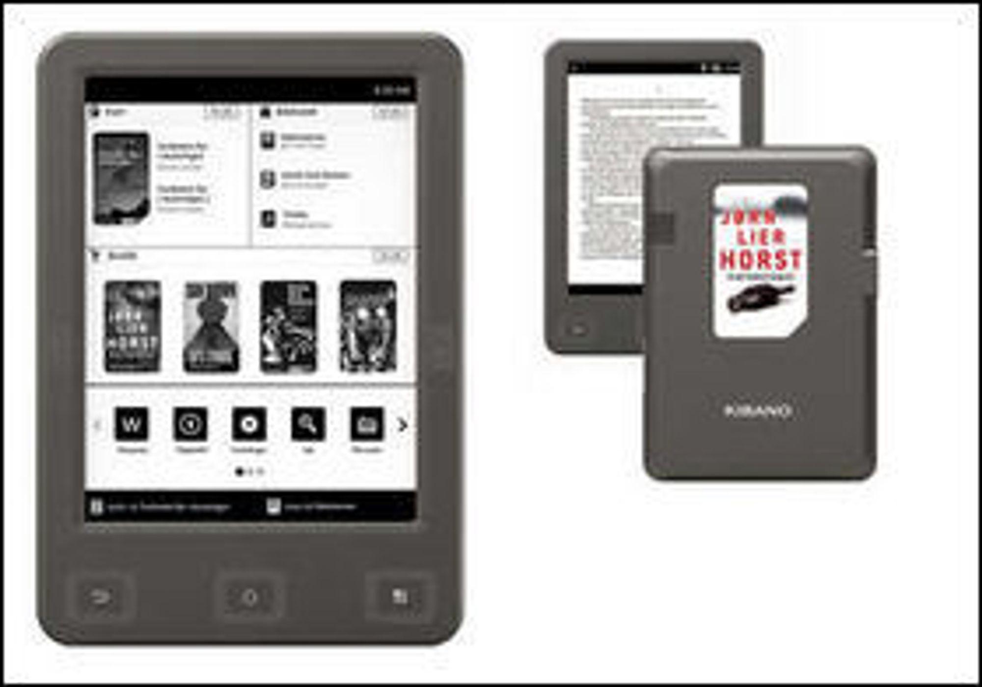 """Lesebrettet Kibano, utviklet av Norli Libris, har også mulighet for å lese """"magnetbøker."""" Produktet ble lansert i fjor høst, men har ikke blitt en stor salgssuksess."""