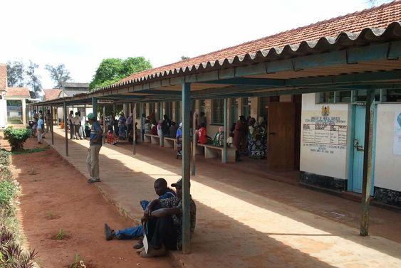 DHIS brukes ved denne helseklinikken i Kilindini i Kenya.
