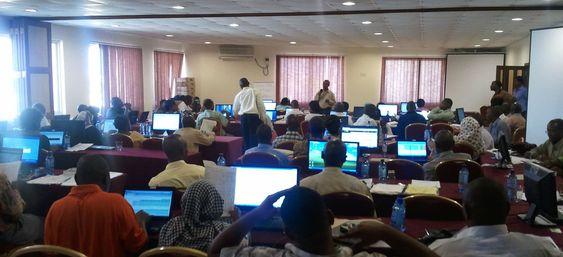 Heving av lokal kompetanse er en viktig del av prosjektet, her fra et seminar i Mombasa, Kenya, i juni.