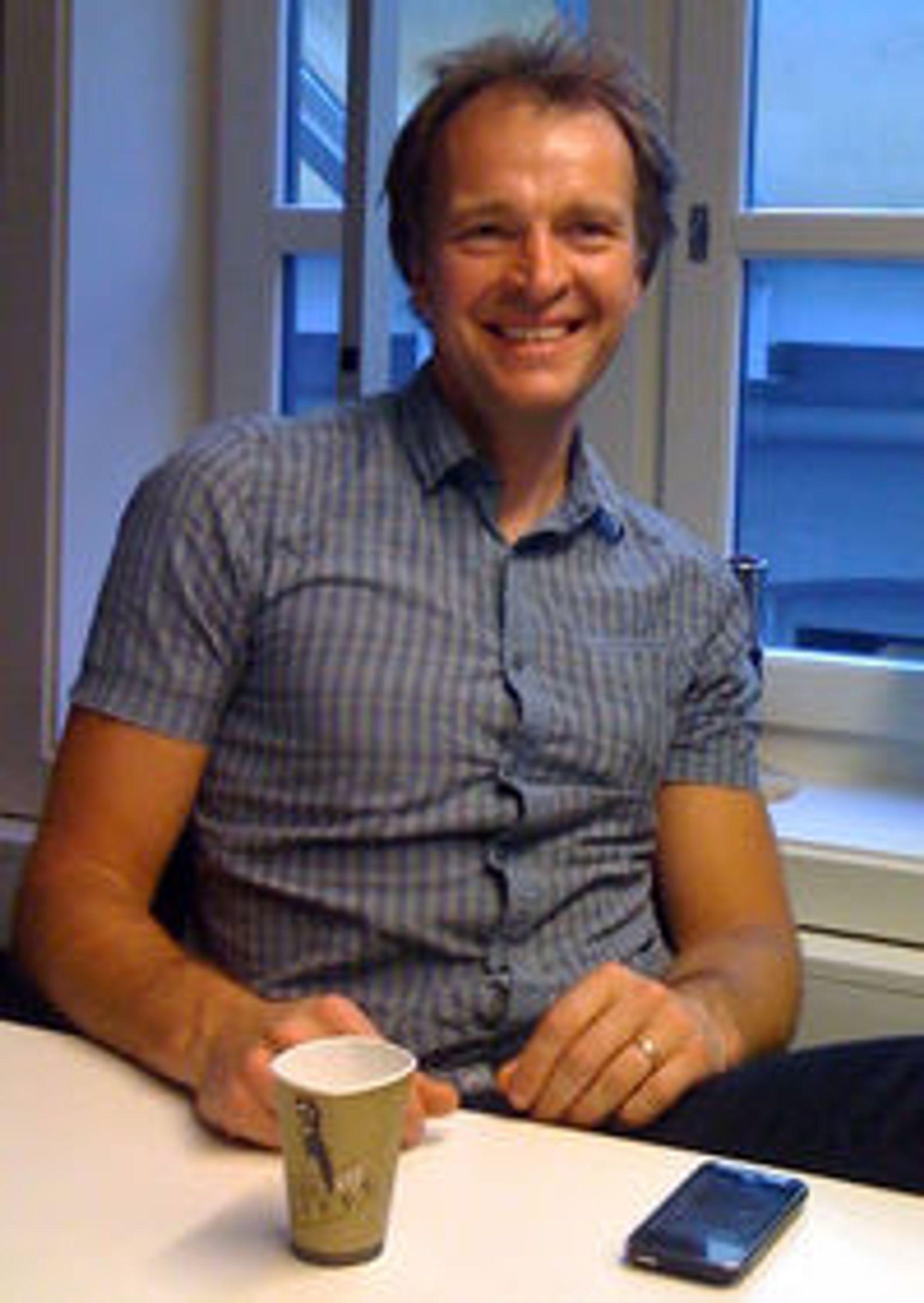 - Hvordan Wimp skal lanseres kommersielt vet vi først på sensommeren, sier teknisk sjef Per Einar Dybvik i Aspiro.