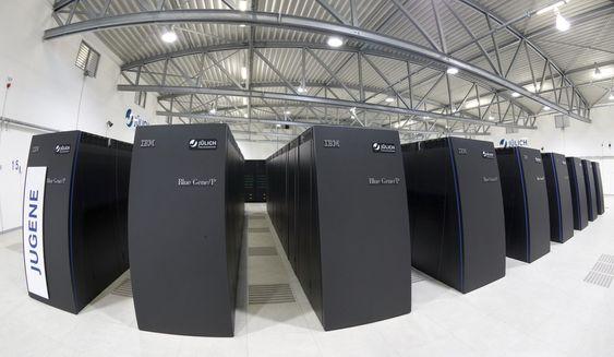 Det tyske Jugene-systemet som ligger på tredjeplass i juniutgaven av Top 500 Supercomputer Sites.