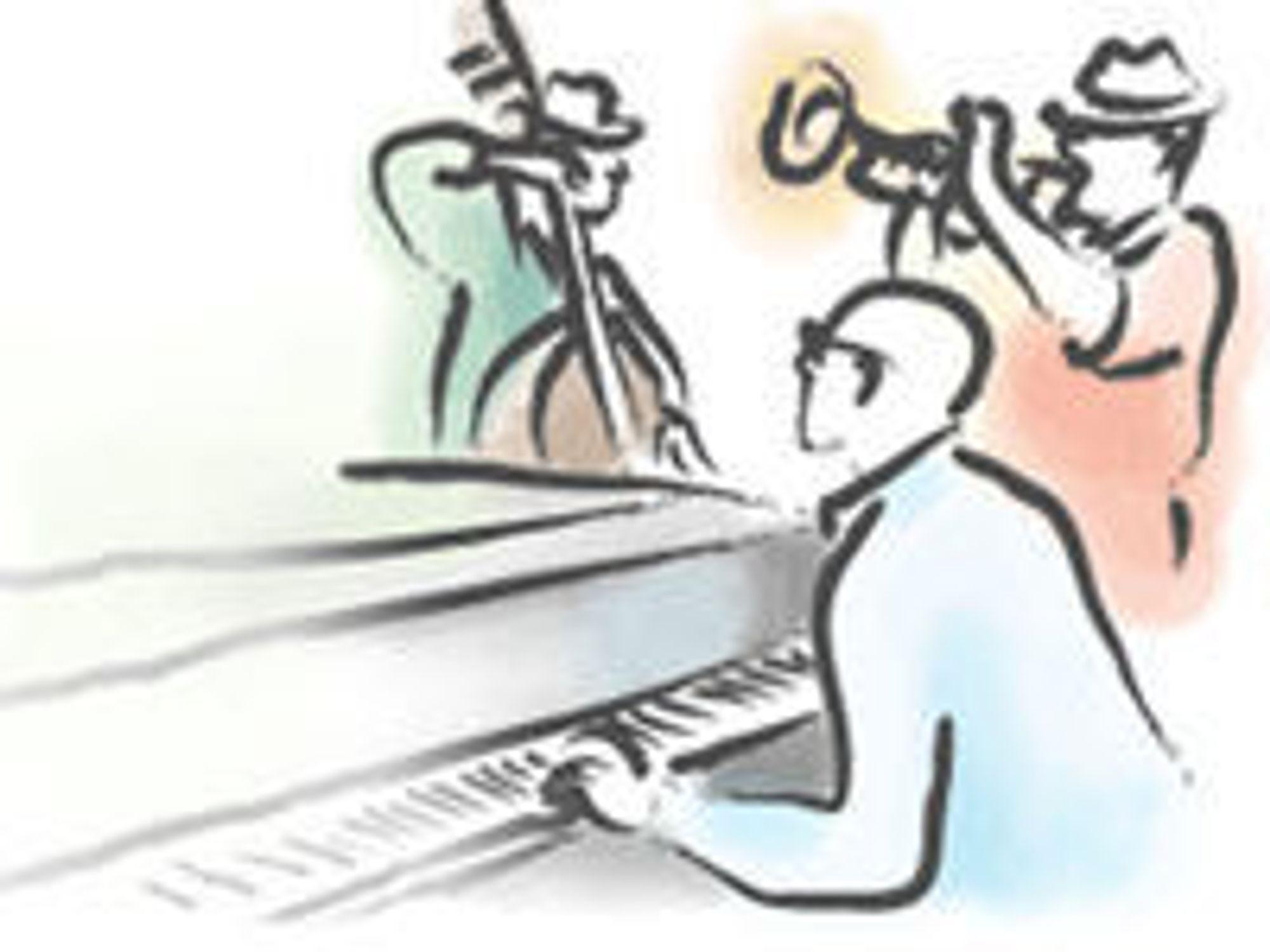 Fra IBMs brosjyre for verktøyet Rational Jazz.