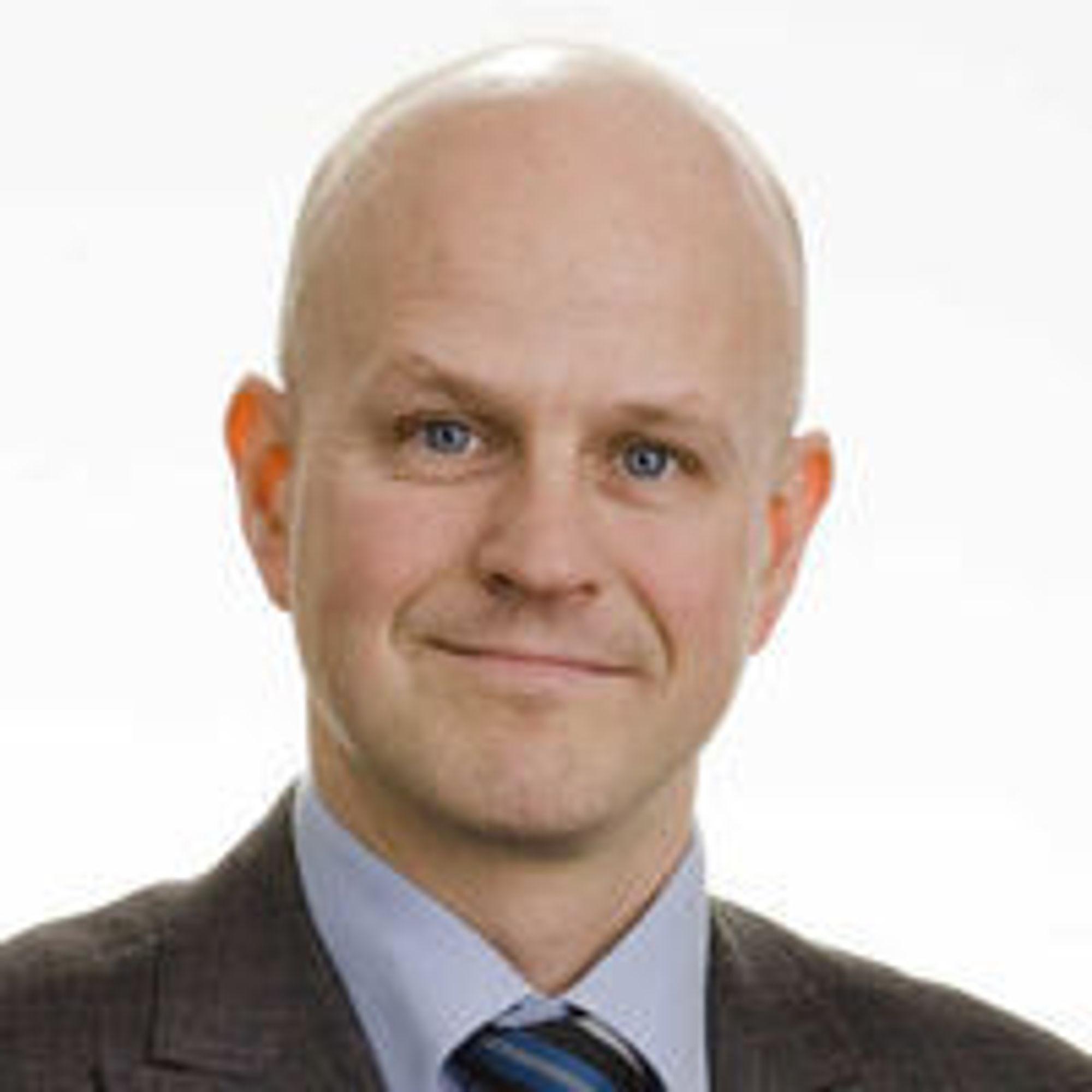 Bård Hammervold, kommunikasjonsdirektør i Eniro Norge.