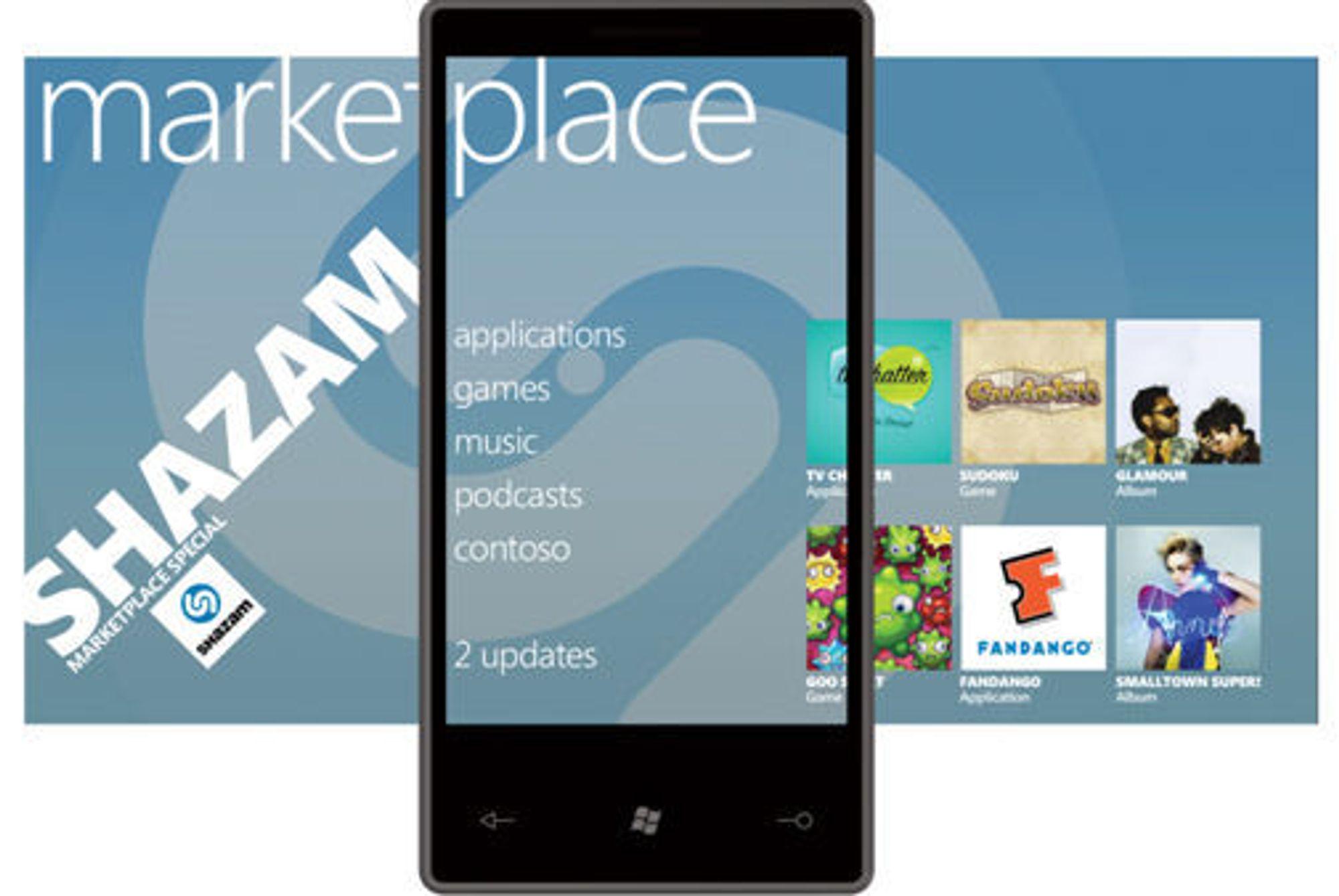 Butikken blir inndelt i kategorier, og som skjermskuddet viser skal brukeren lett få øye på oppgraderinger.
