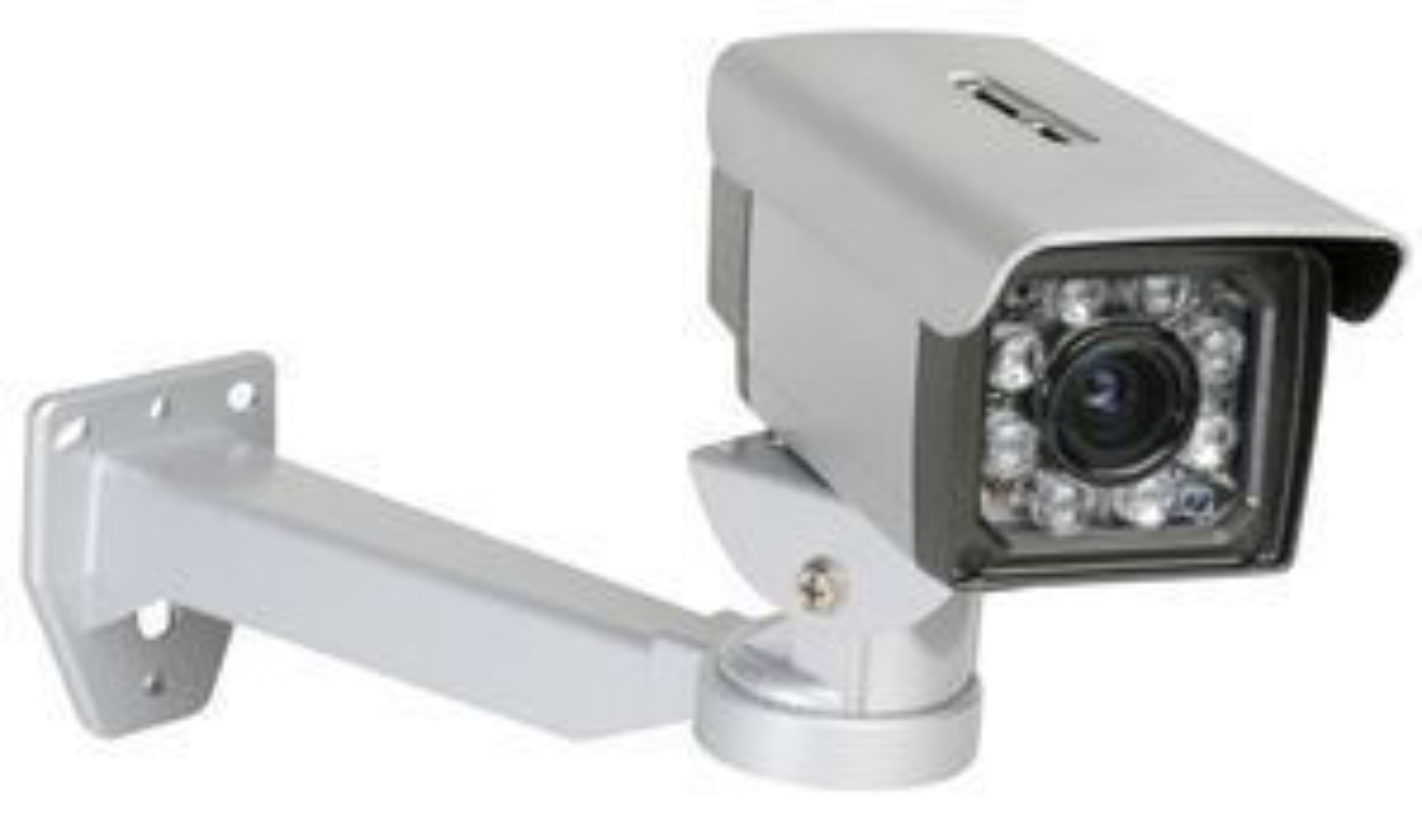 DCS-7410 er et utendørskamera med PoE (power over Ethernet), slik at signaler og driftsstrøm går over samme kabel.