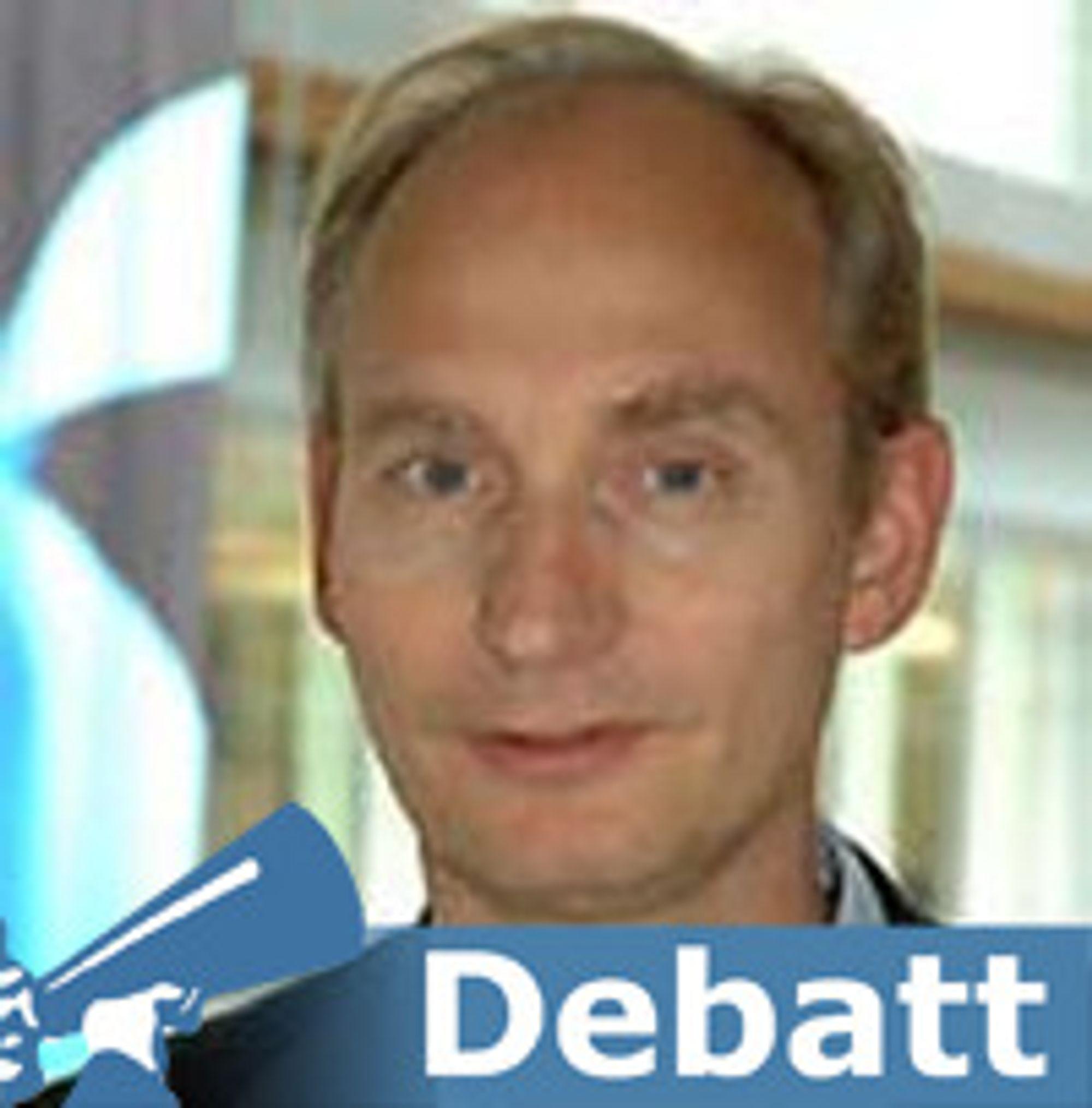 Harald Krogh er divisjonsdirektør videresalg og regulatorisk i Telenor Norge.
